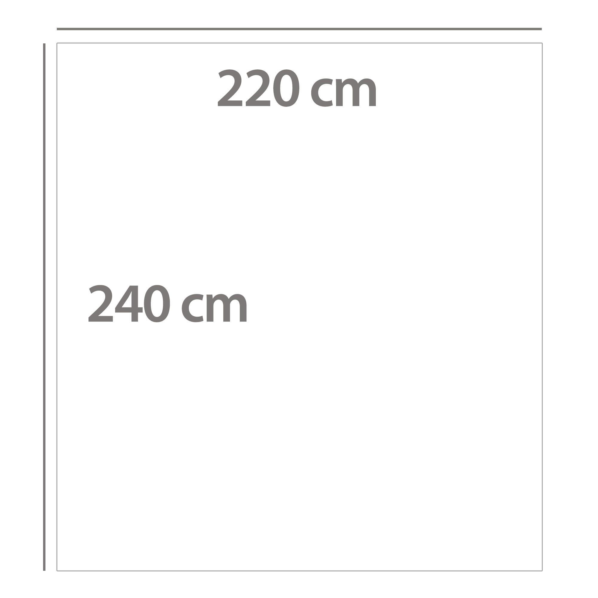 Couverture-polaire-220x240-Microfibre-VELVET-Rouge