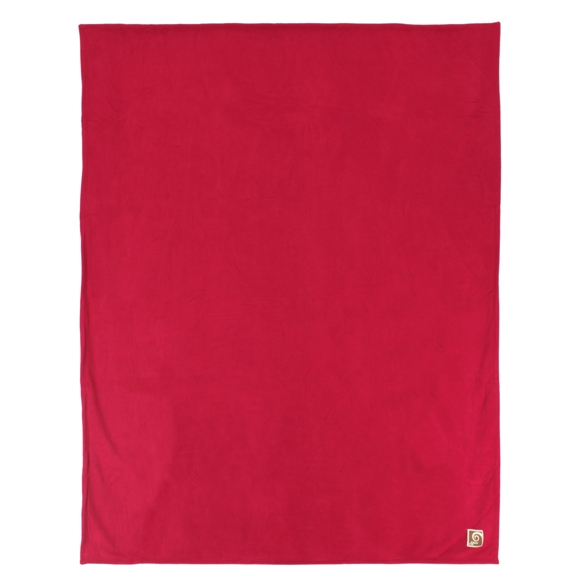 Couverture-polaire-luxe-180x220-100-polyester-430g-m2-NARVIK-Rouge-Framboise