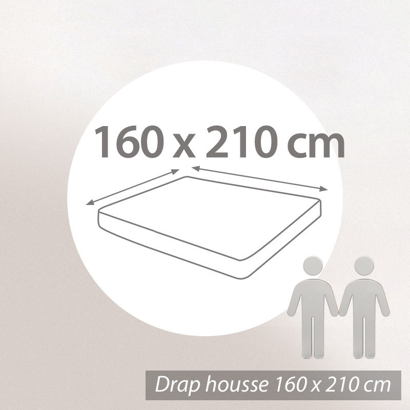 drap housse 160 x 210 Drap housse uni 160x210 100% coton ALTO Belle ile | eBay drap housse 160 x 210