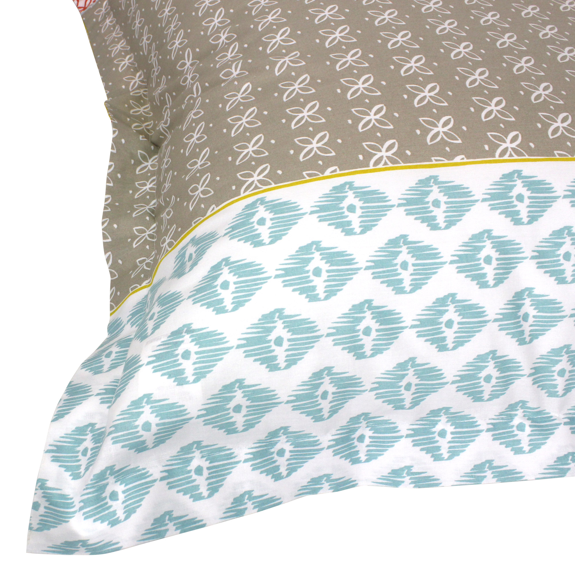 Parure-de-lit-140x200-100-coton-RIO-Multicolore-2-pieces