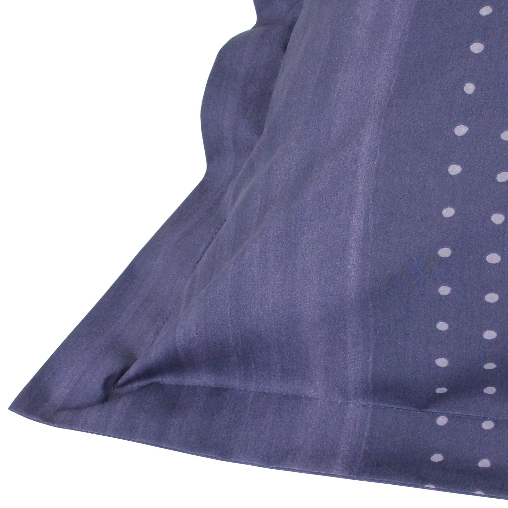 Parure-de-lit-280x240-Percale-pur-coton-JAZZ-Bleu-3-pieces