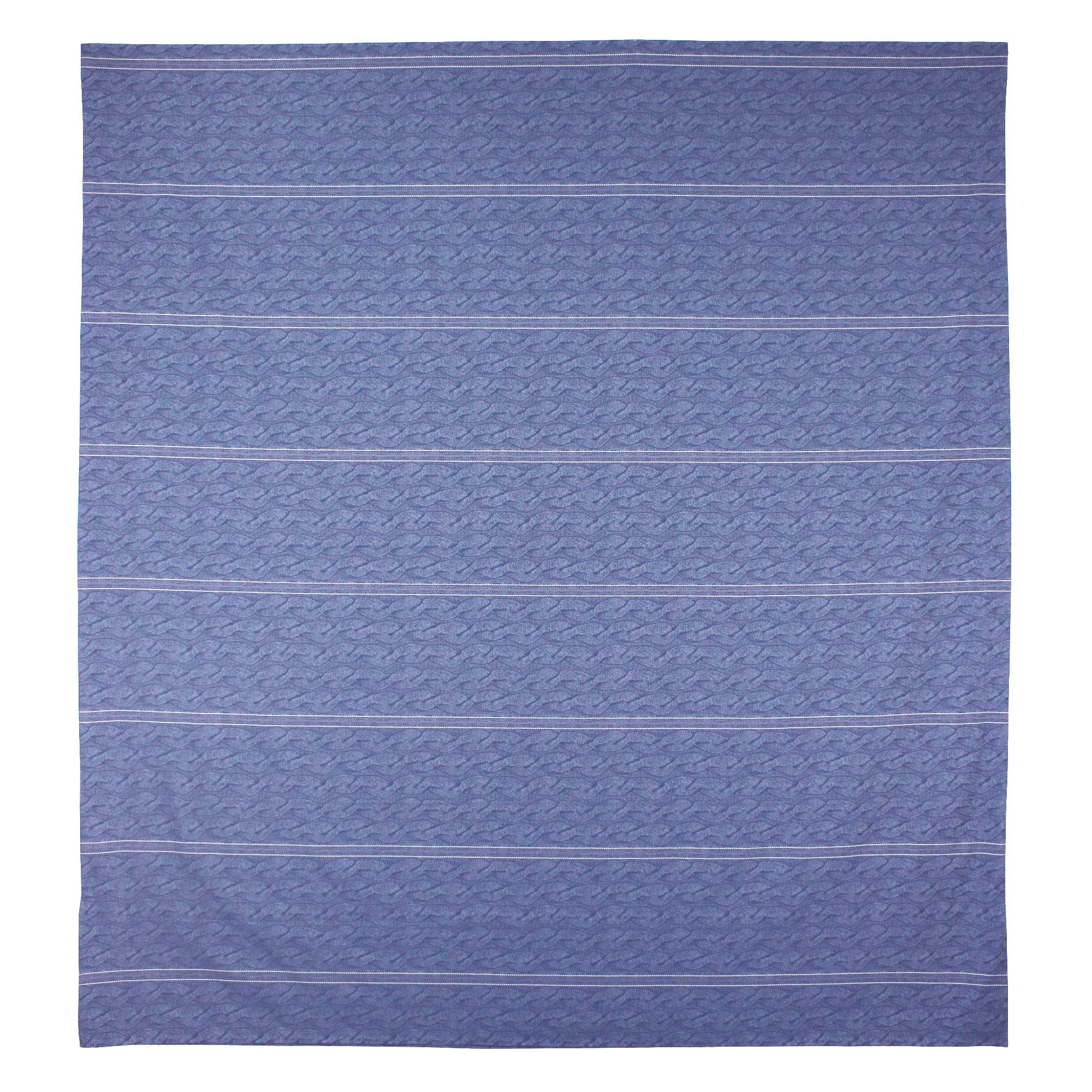 Parure-de-lit-280x240-Satin-de-coton-VENDOME-Bleu-fonce