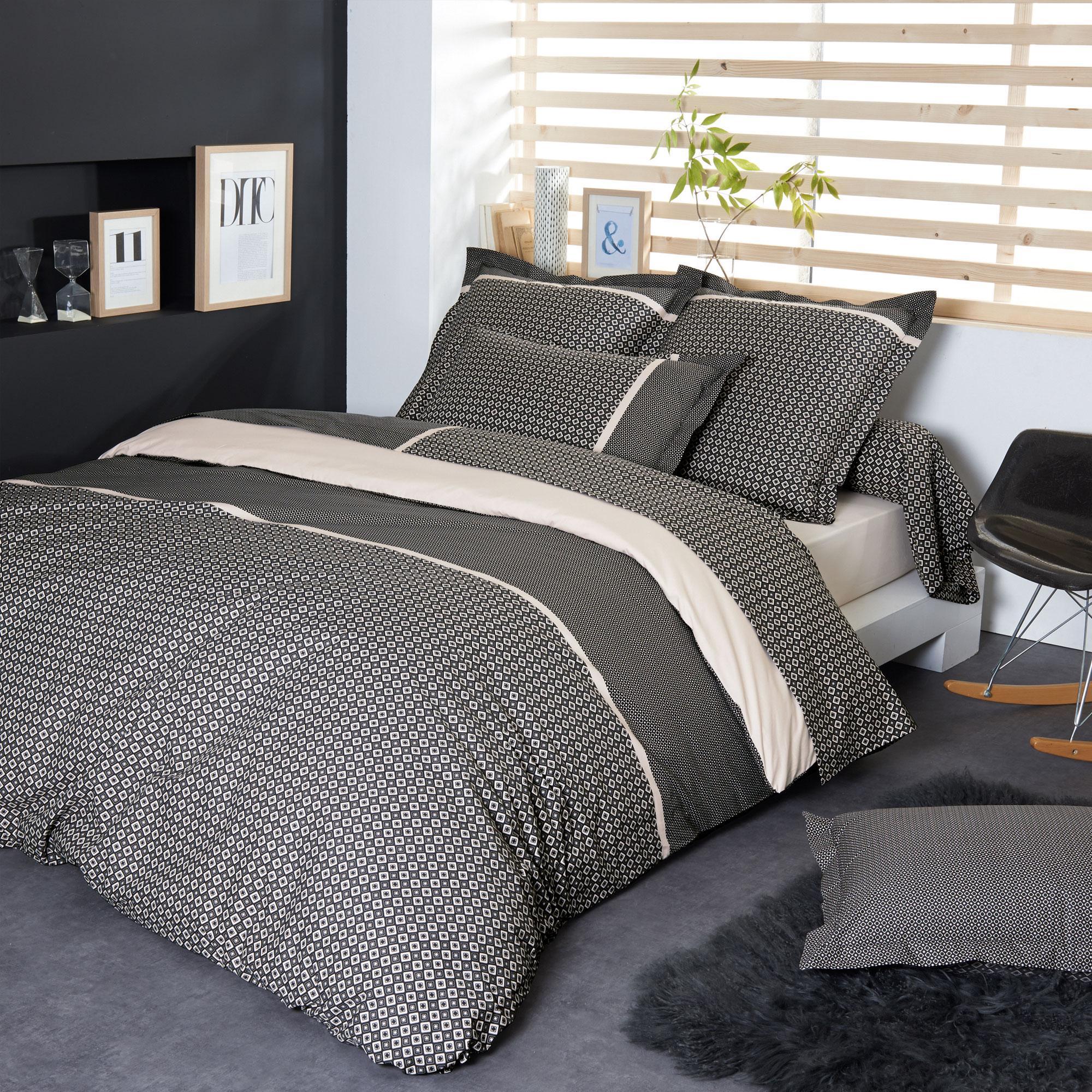 linge de lit 200 x 200 Parure de lit Percale pur coton peigné 200x200 cm GATSBY | Linnea  linge de lit 200 x 200