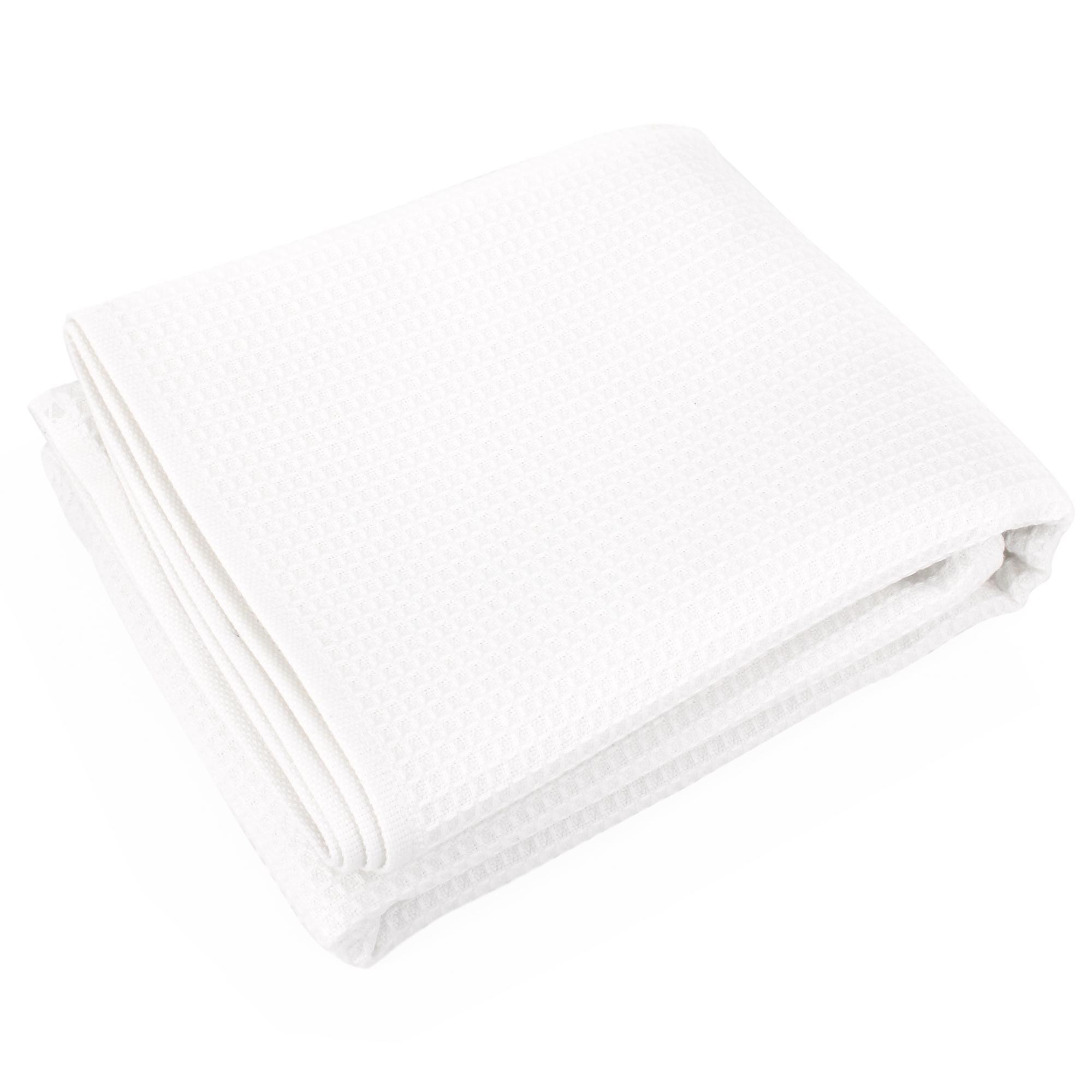 Drap de douche Serviette de bain gaufr/ée 130/X70/cm//coton//serviette de sauna Gris