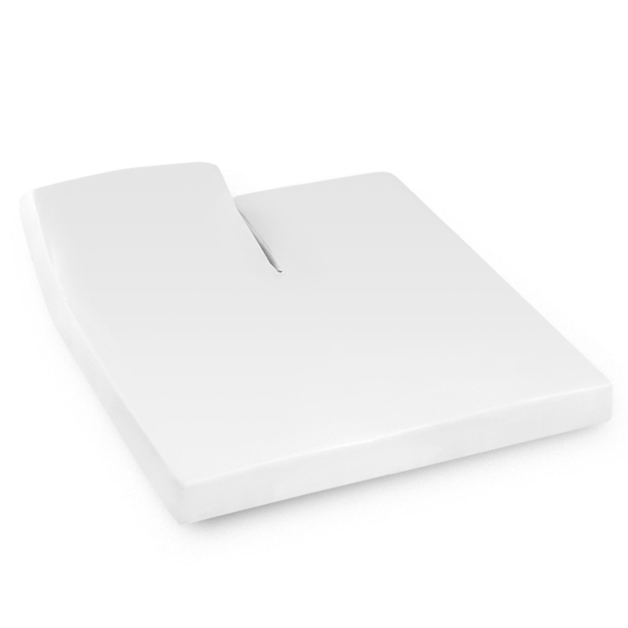 Drap Housse Relaxation 2x90x200cm Uni Pur Coton Alto Blanc Tr T Te