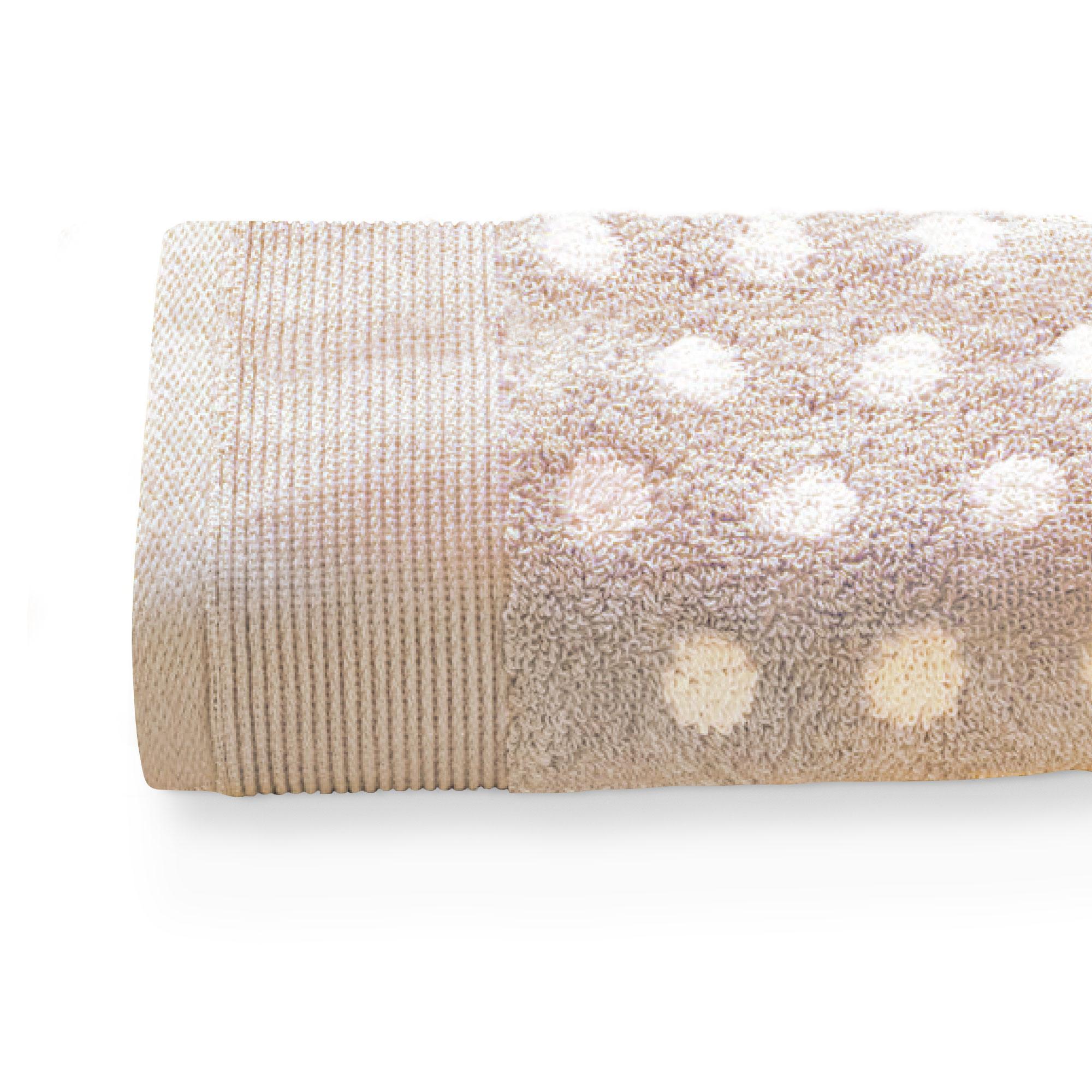 Drap de bain 100x150cm uni coton DOMINO Beige | Linnea vente de ...
