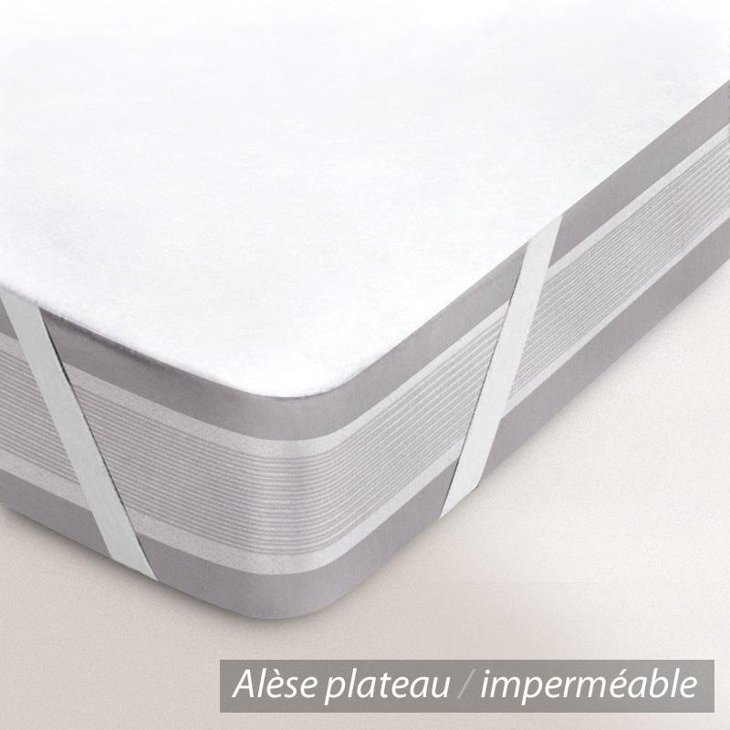 al se plate imperm able 60x140 cm antony molleton enduction acrylique linnea linge de. Black Bedroom Furniture Sets. Home Design Ideas
