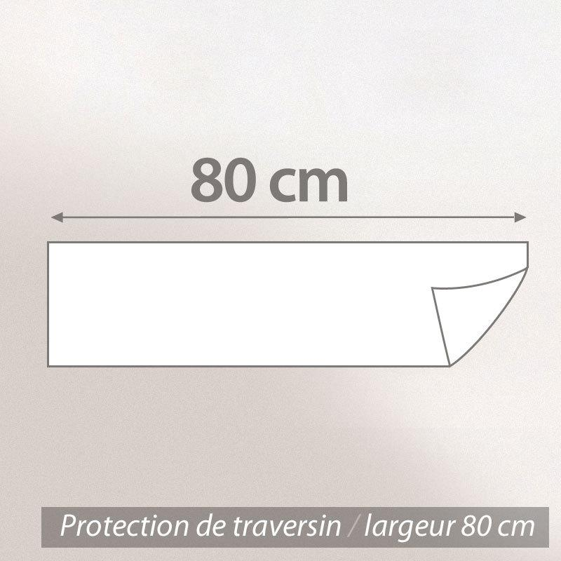 Housse de protection de traversin imperm able antony blanc for Housse de traversin