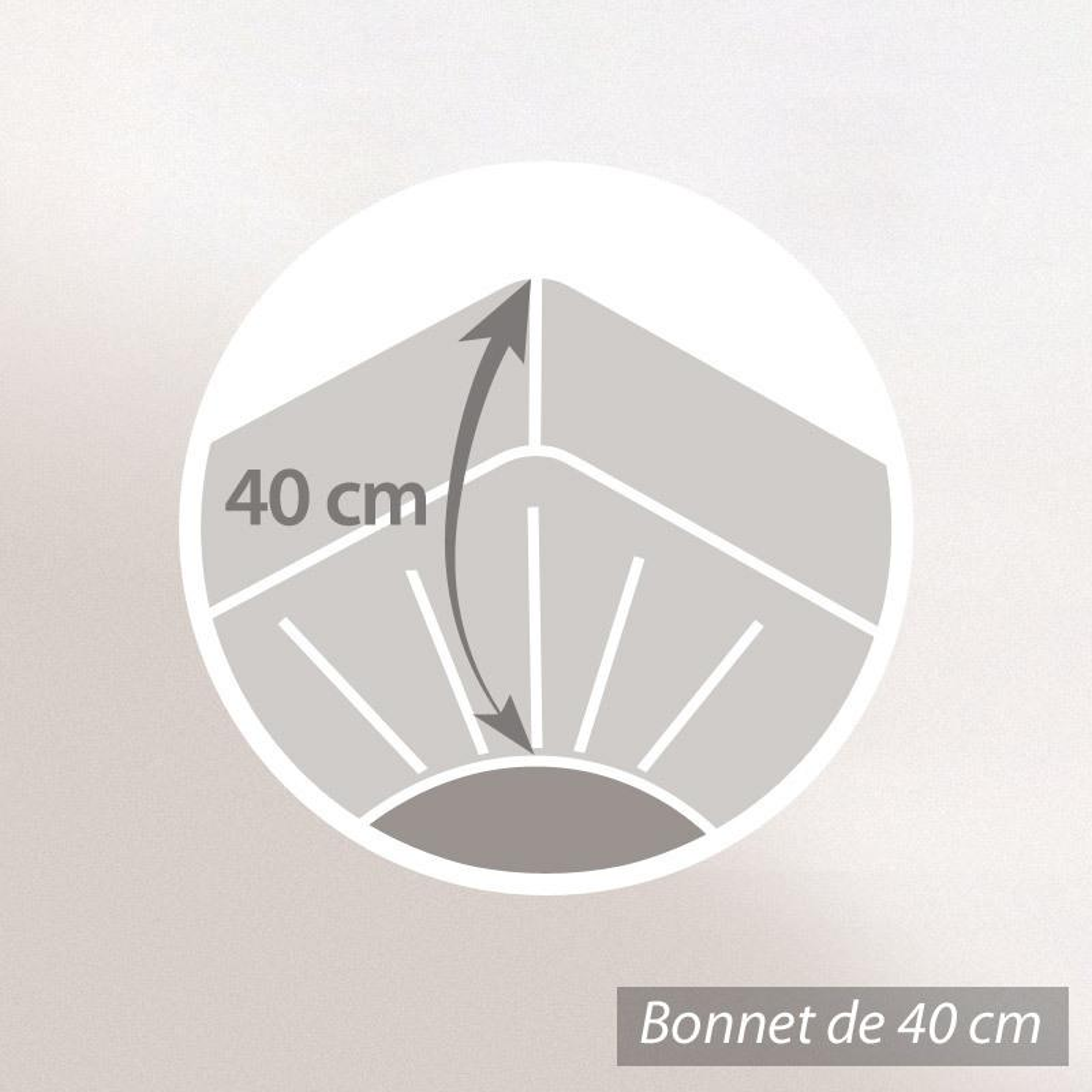 Protège Matelas 140X190 Cm Antonin - Molleton Absorbant, Traité