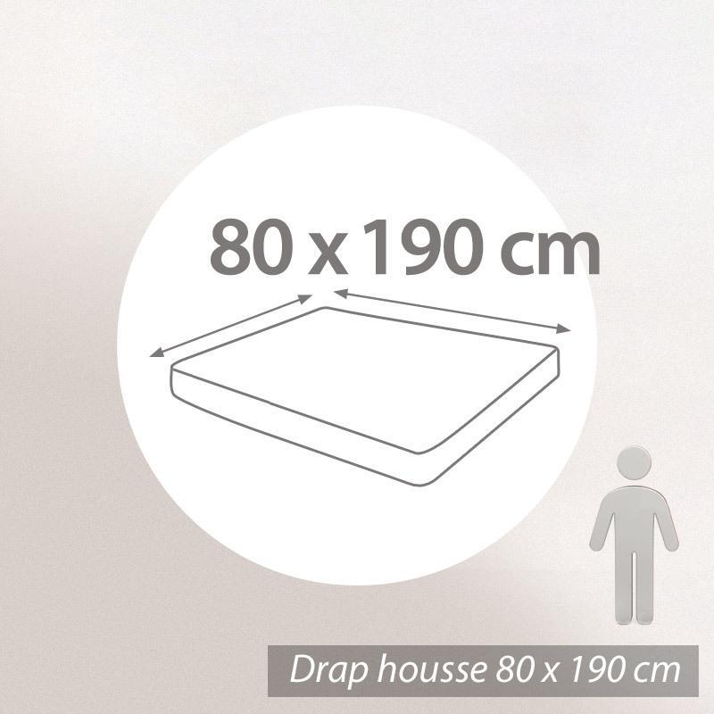 linge de lit 80 x 190 Protège matelas imperméable Antony   blanc   80x190   Grand Bon linge de lit 80 x 190