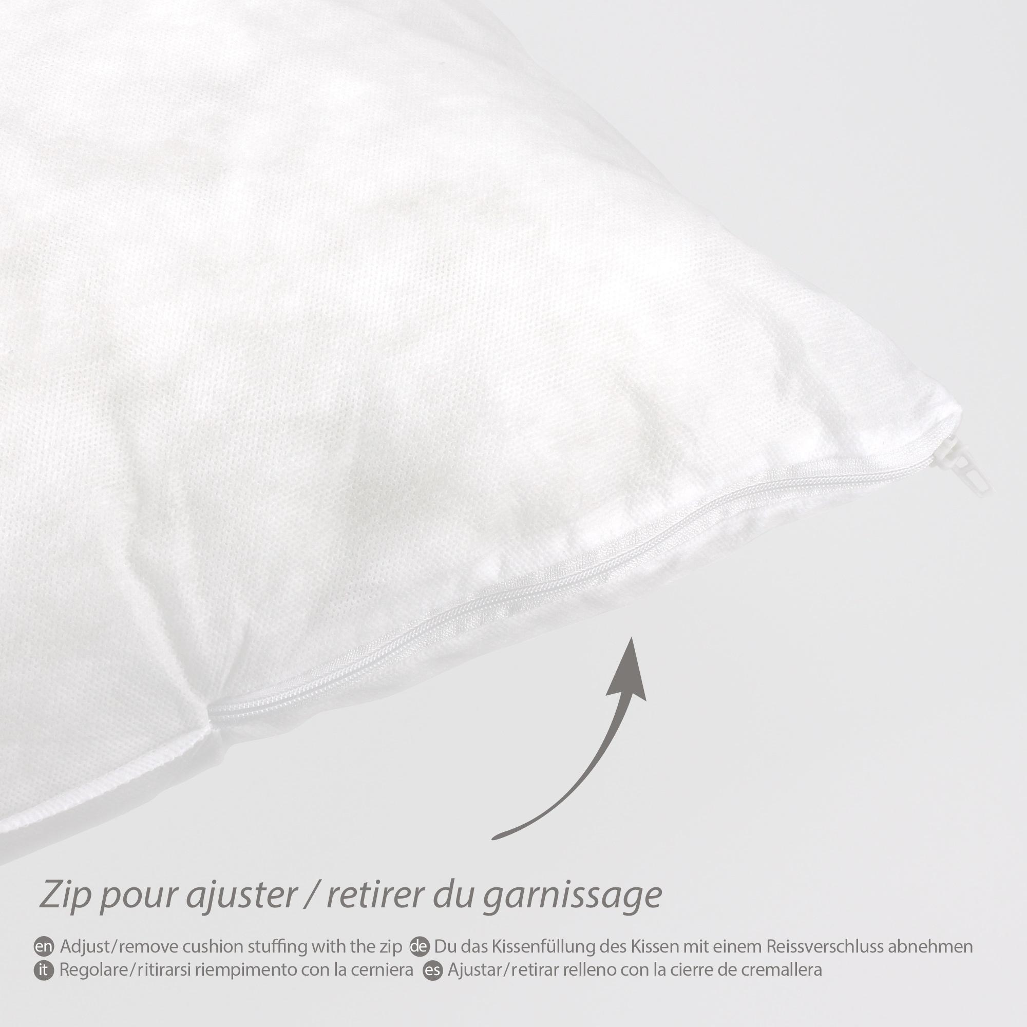 coussin recouvrir 50x50 cm garnissage fibres polyester. Black Bedroom Furniture Sets. Home Design Ideas
