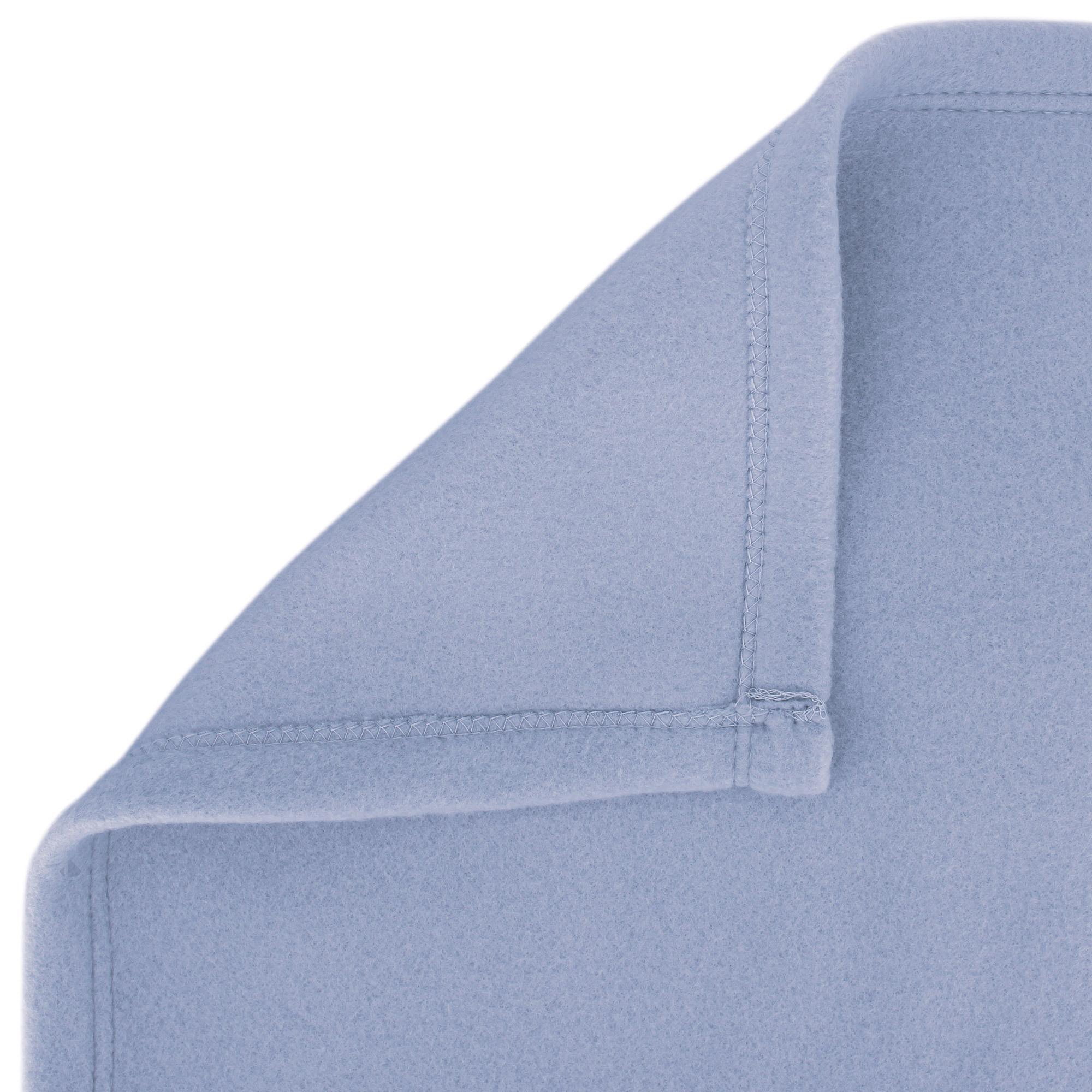 couverture polaire 220x240 cm isba myosotis 100 polyester 320 g m2 trait non feu linnea. Black Bedroom Furniture Sets. Home Design Ideas