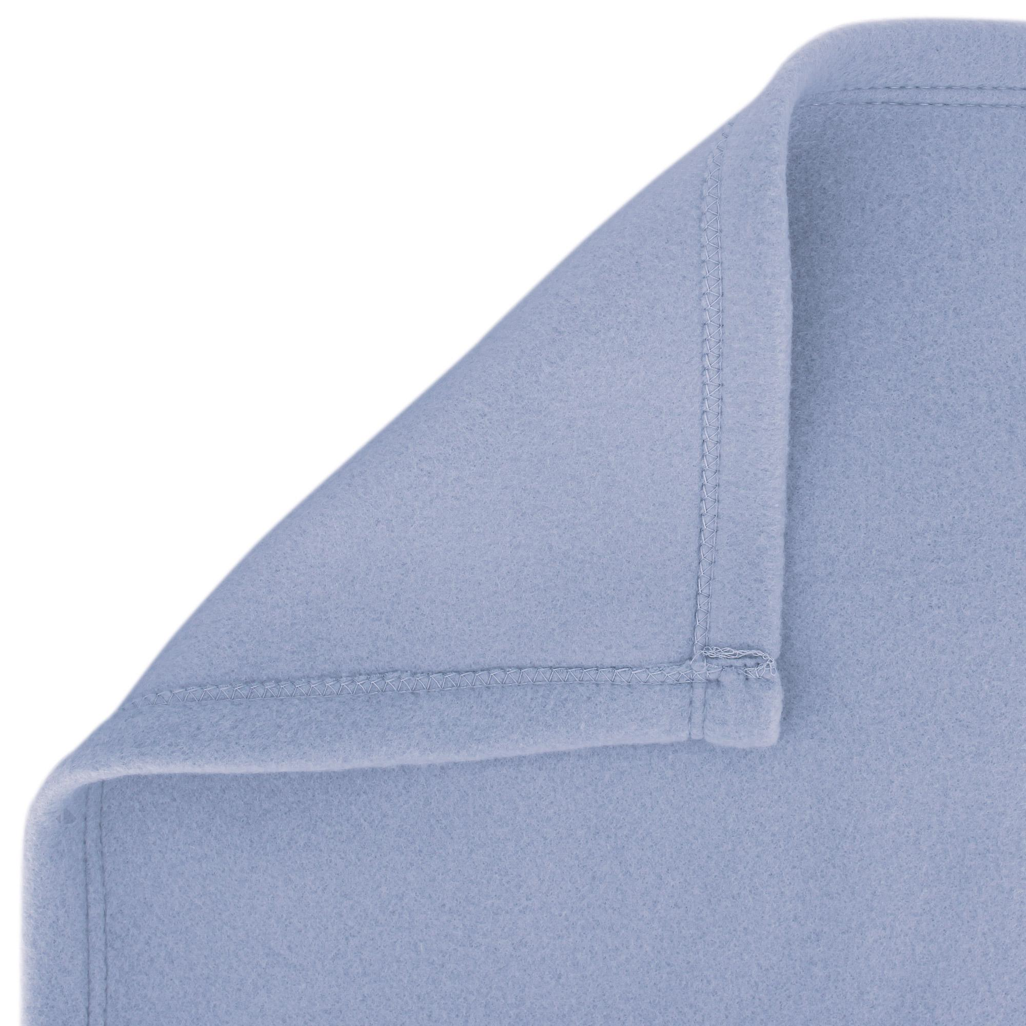 couverture polaire 240x260 cm isba myosotis 100 polyester 320 g m2 trait non feu linnea. Black Bedroom Furniture Sets. Home Design Ideas