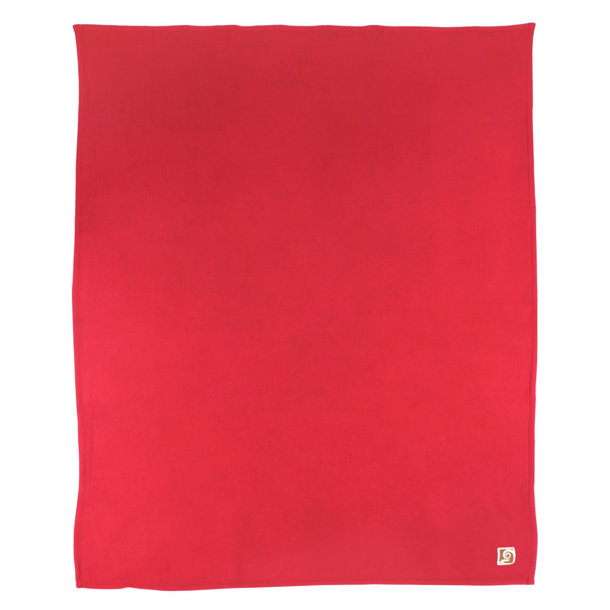 couverture polaire polyester 180x220 cm teddy framboise linnea vente de linge de maison. Black Bedroom Furniture Sets. Home Design Ideas