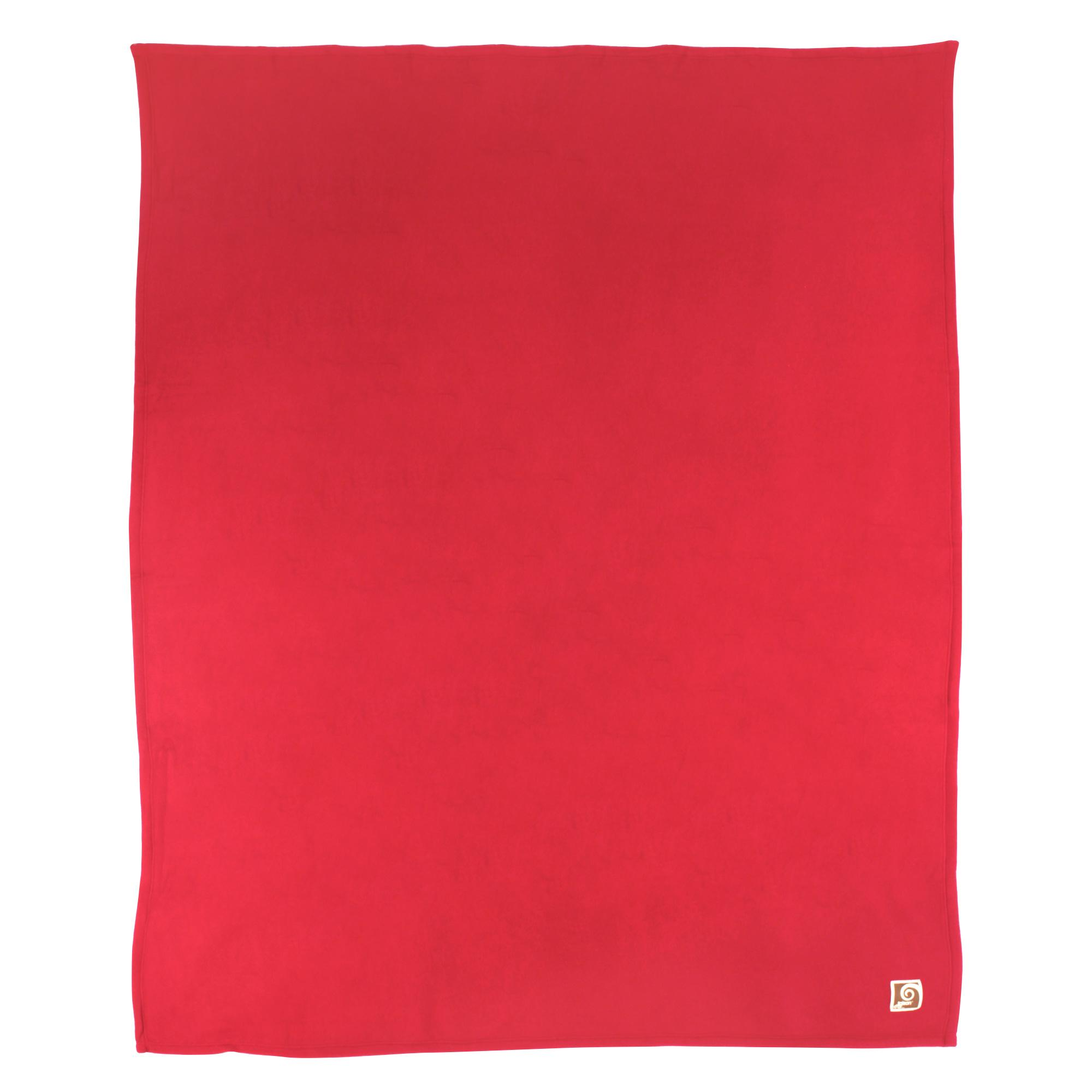 Couverture-polaire-220x240-100-Polyester-350g-m2-TEDDY-Rouge-Framboise