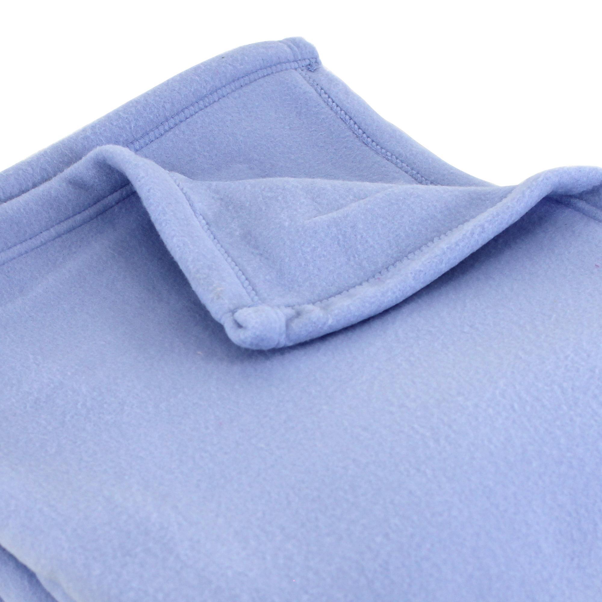 couverture polaire polyester 220x240 cm teddy lavande linnea linge de maison et. Black Bedroom Furniture Sets. Home Design Ideas