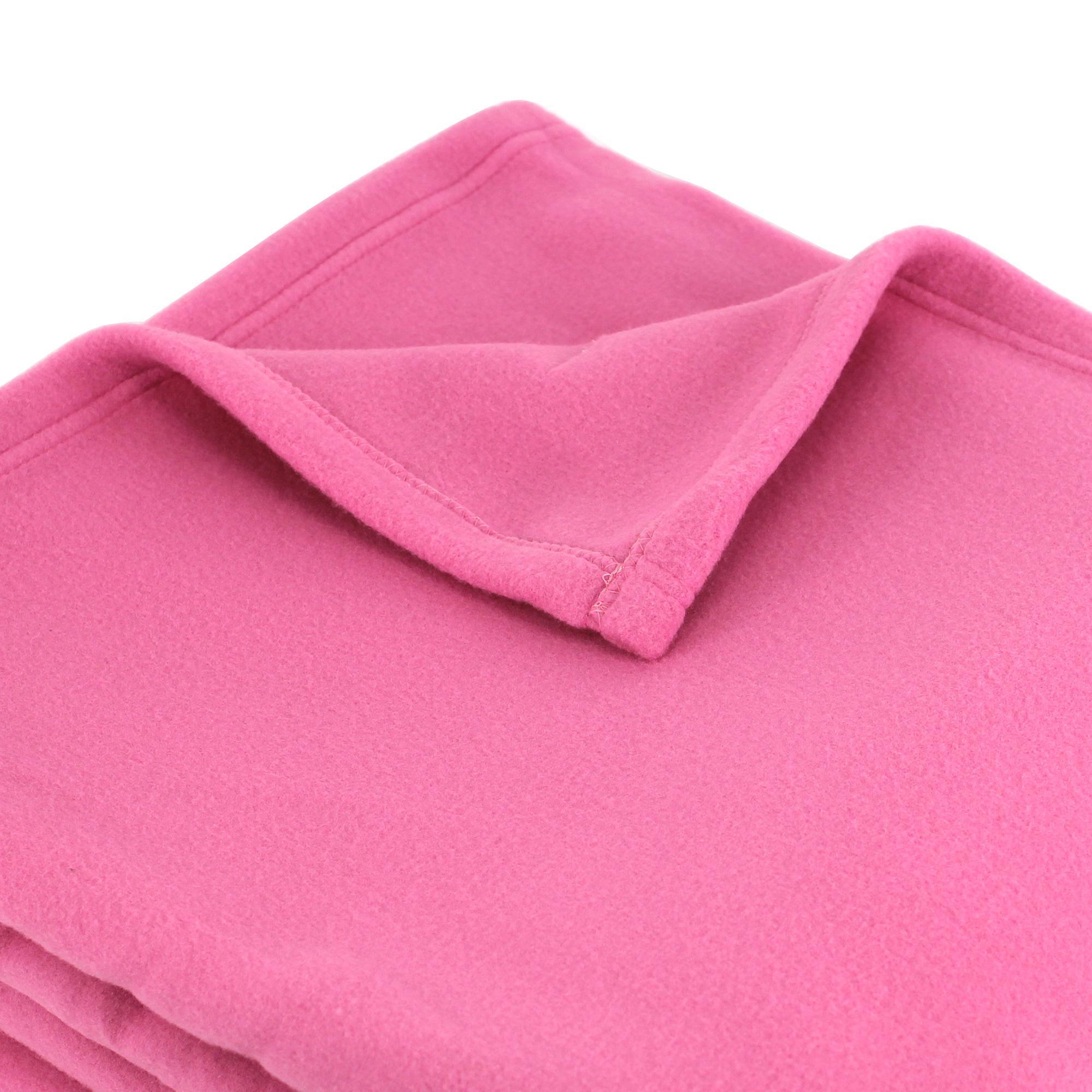 couverture polaire polyester 220x240 cm teddy petunia linnea linge de maison et. Black Bedroom Furniture Sets. Home Design Ideas