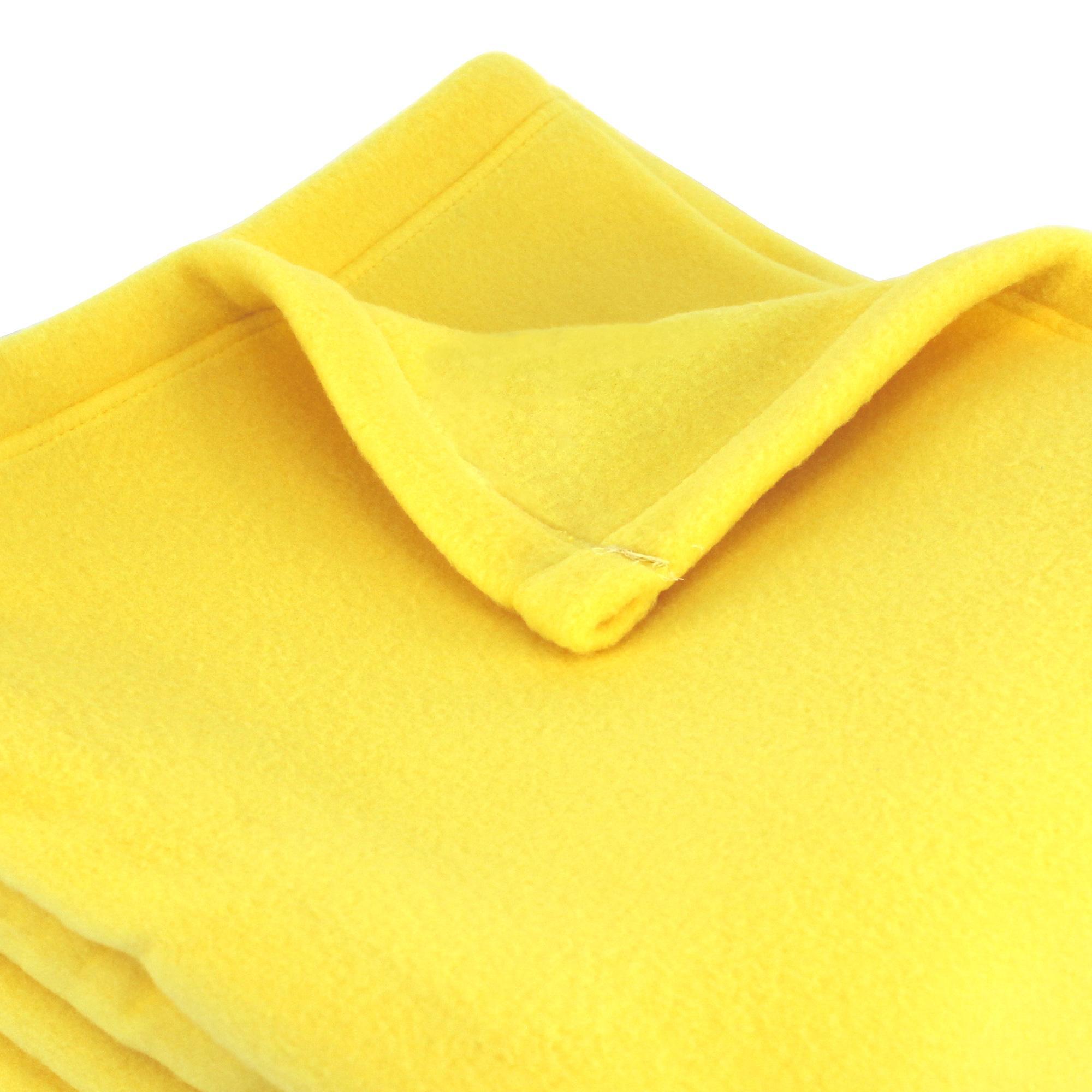 couverture polaire polyester 220x240 cm teddy pollen linnea linge de maison et. Black Bedroom Furniture Sets. Home Design Ideas