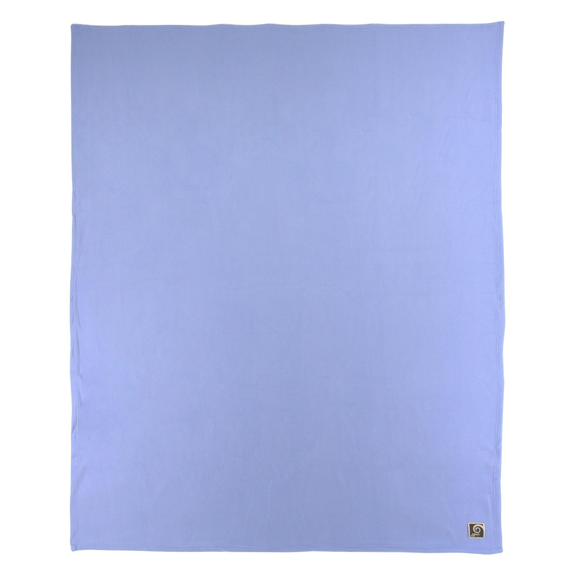 couverture polaire polyester 240x260 cm teddy lavande linnea linge de maison et. Black Bedroom Furniture Sets. Home Design Ideas