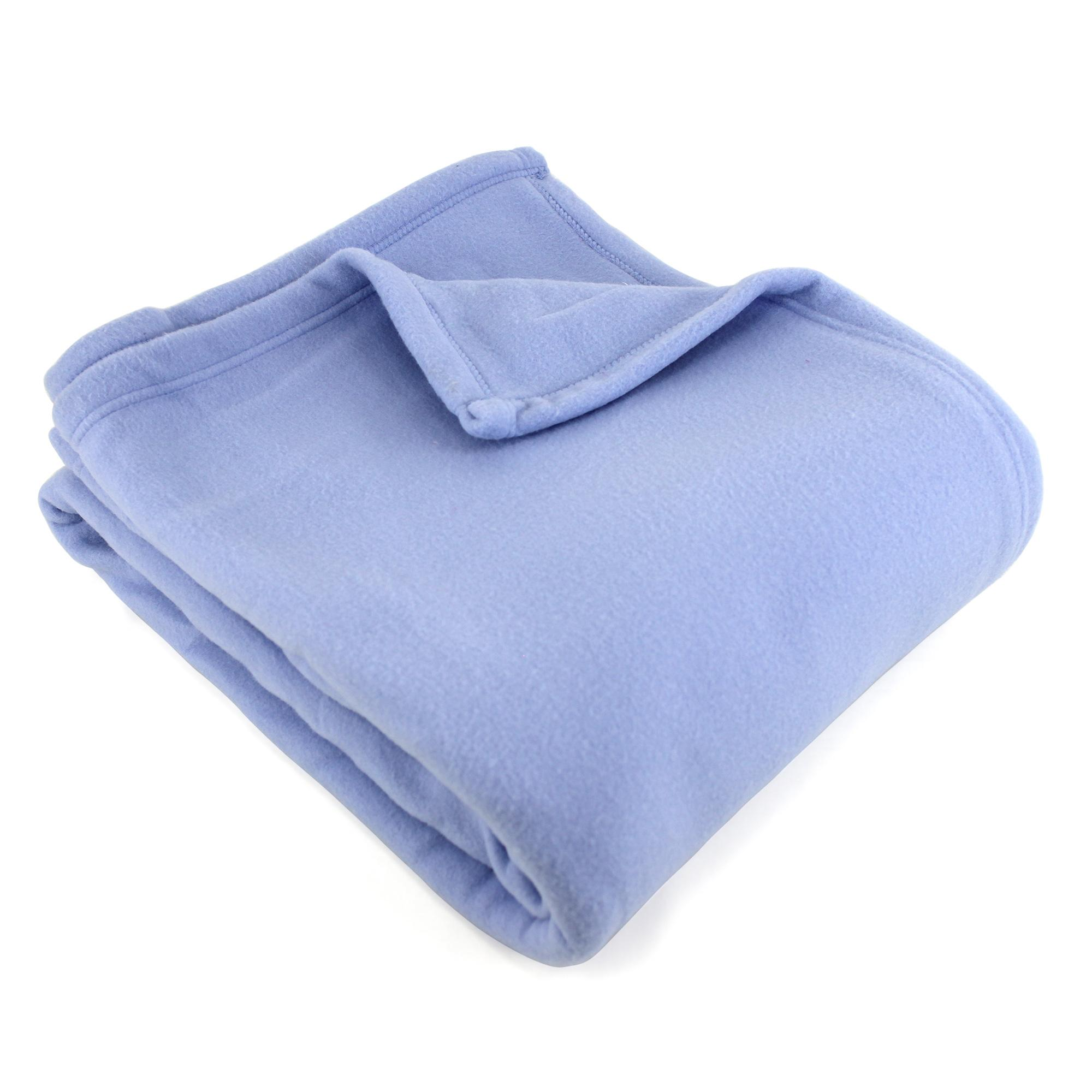 couverture polaire polyester 240x300 cm teddy lavande linnea vente de linge de maison. Black Bedroom Furniture Sets. Home Design Ideas