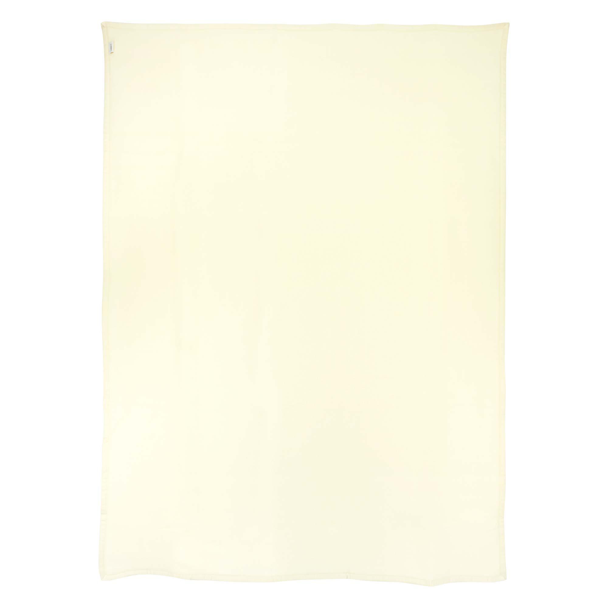 couverture 240x260 cm laine lambswool victoria naturel linnea linge de maison et. Black Bedroom Furniture Sets. Home Design Ideas