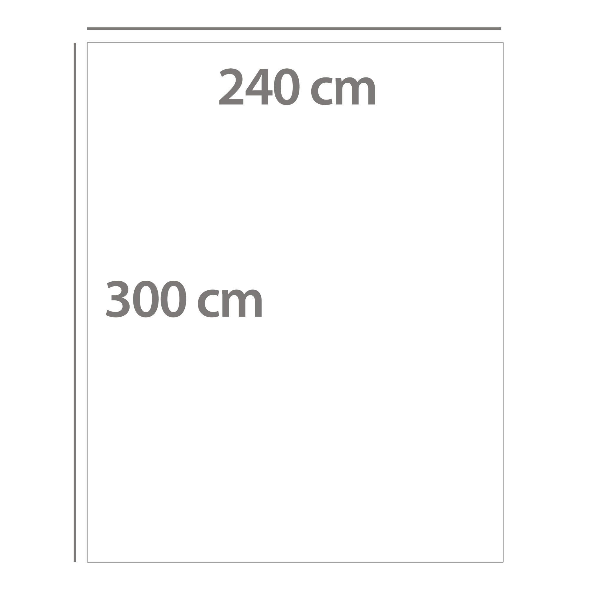 couverture 240x300 pure laine vierge lambswool 360 g m victoria blanc naturel ebay. Black Bedroom Furniture Sets. Home Design Ideas