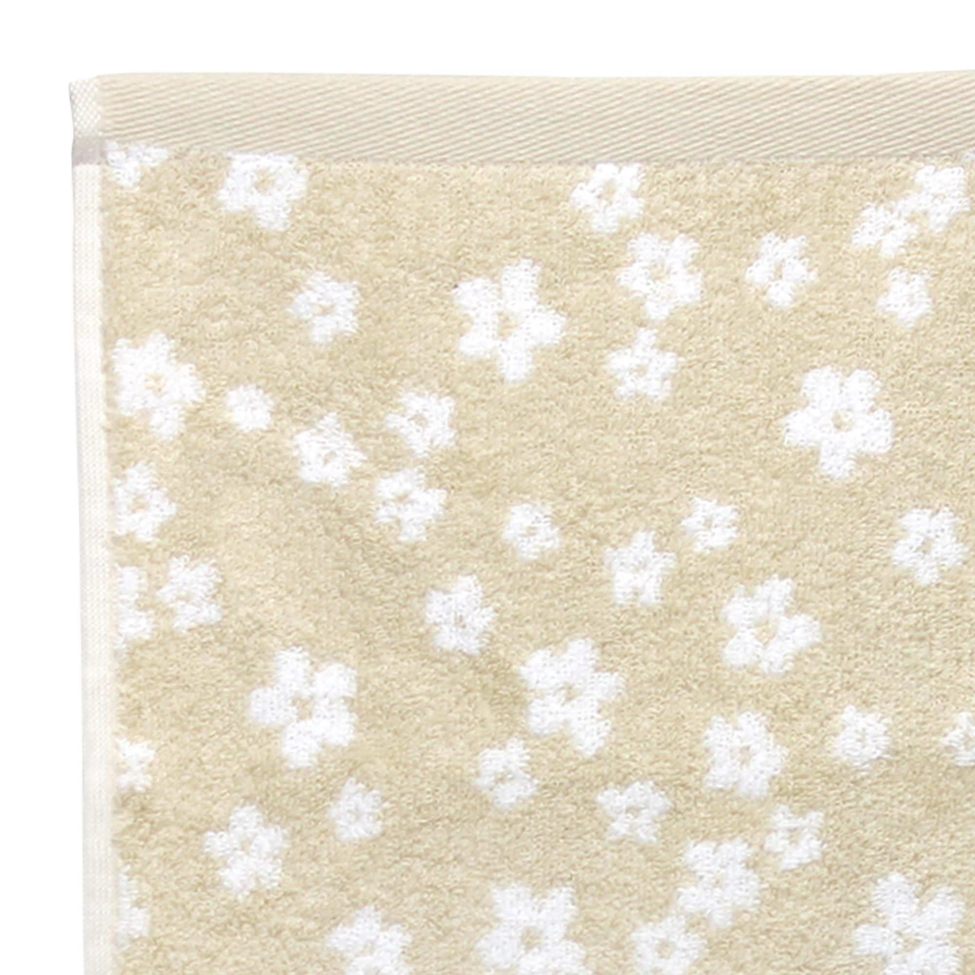 drap bain 100x150 cm coton facile beige linnea linge de maison et. Black Bedroom Furniture Sets. Home Design Ideas