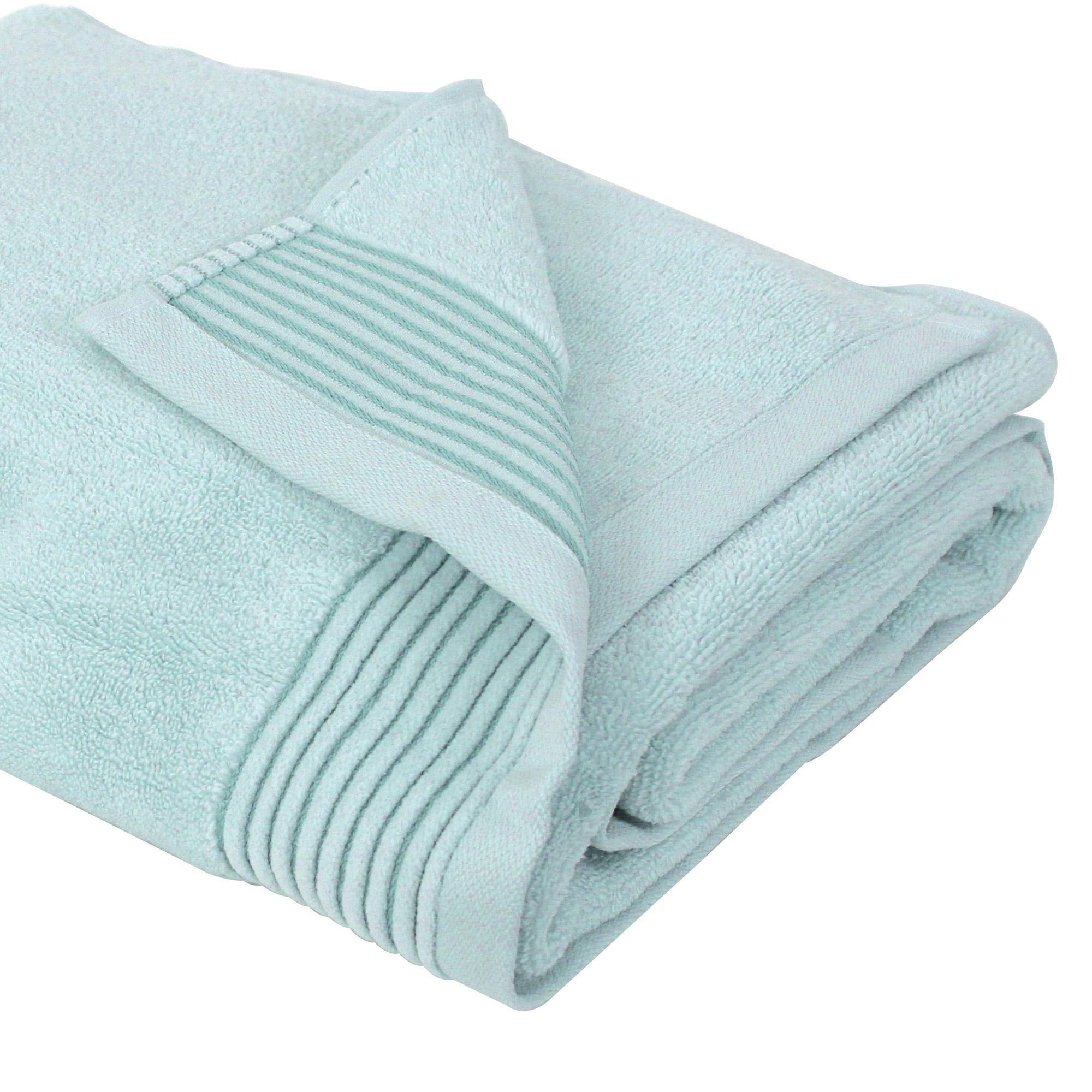 drap de bain 100x150 cm juliet bleu p le 520 g m2 linnea linge de maison et. Black Bedroom Furniture Sets. Home Design Ideas