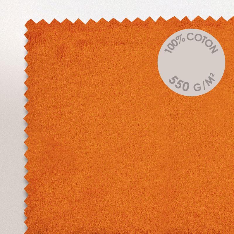 drap de bain 100x150 pure orange butane 550g m2 ebay. Black Bedroom Furniture Sets. Home Design Ideas