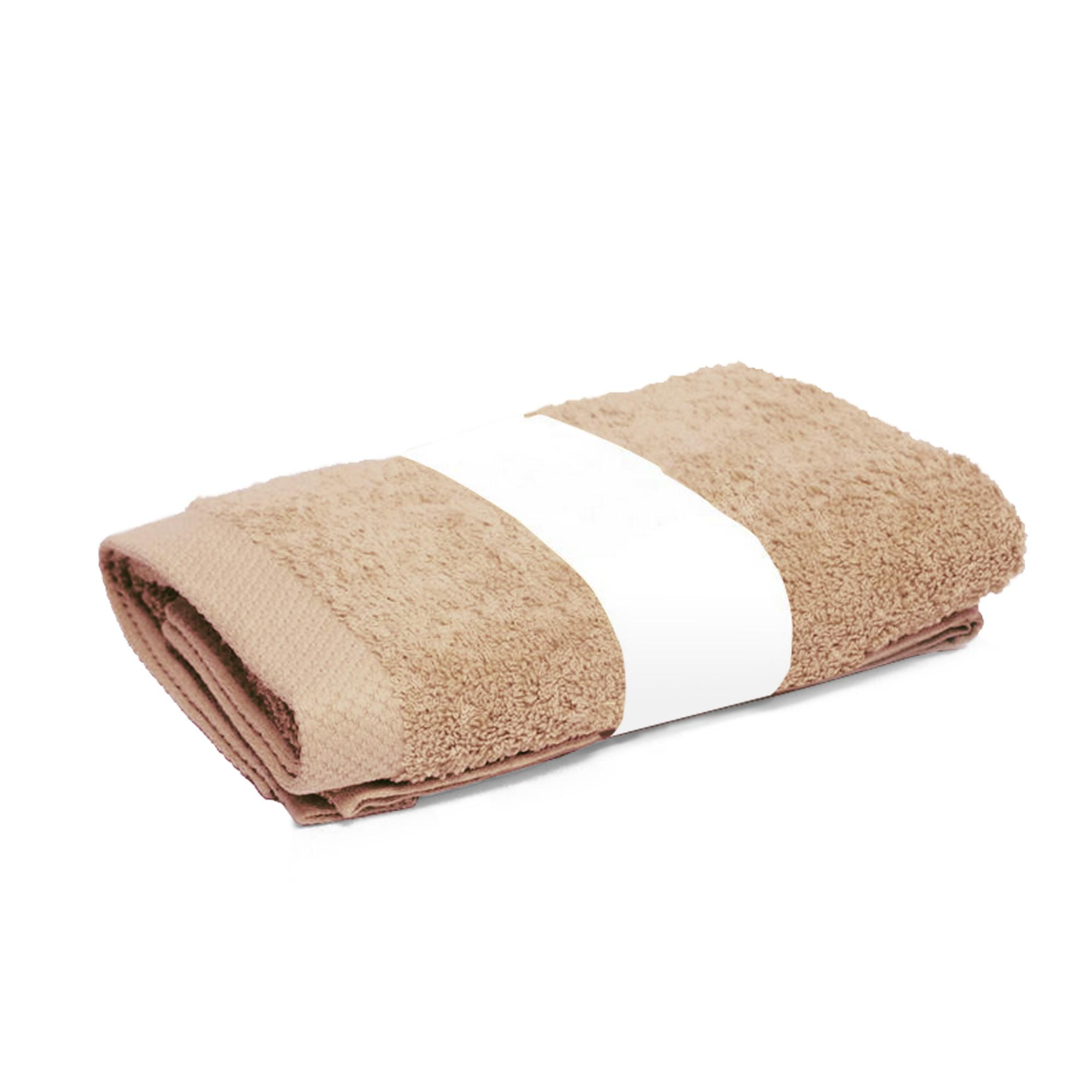 Drap de douche 70x140cm coton uni pure beige linnea linge de maison et - Drap de douche personnalise ...