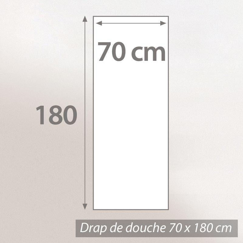 drap de douche 70x180 pure pistache 550g m2 ebay. Black Bedroom Furniture Sets. Home Design Ideas