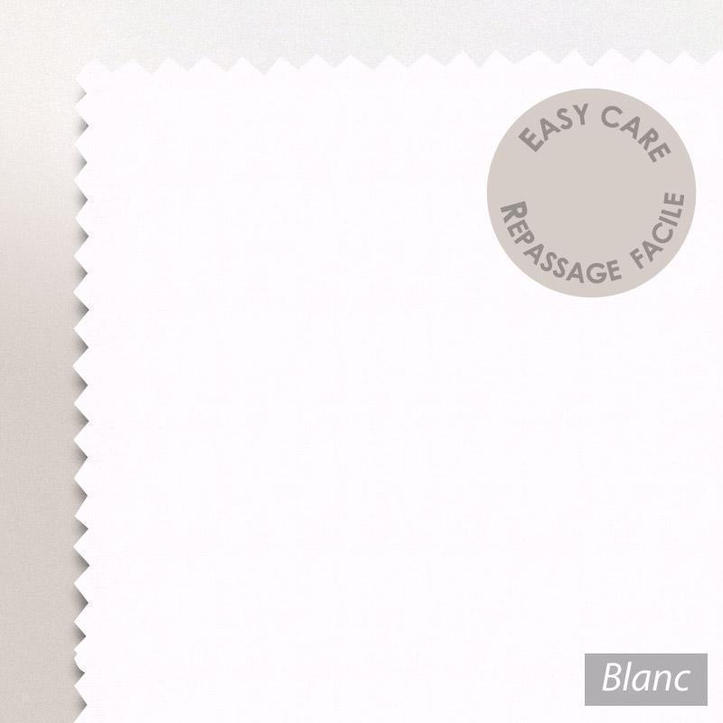 drap housse 100x200cm uni pur coton alto blanc linnea linge de maison et. Black Bedroom Furniture Sets. Home Design Ideas