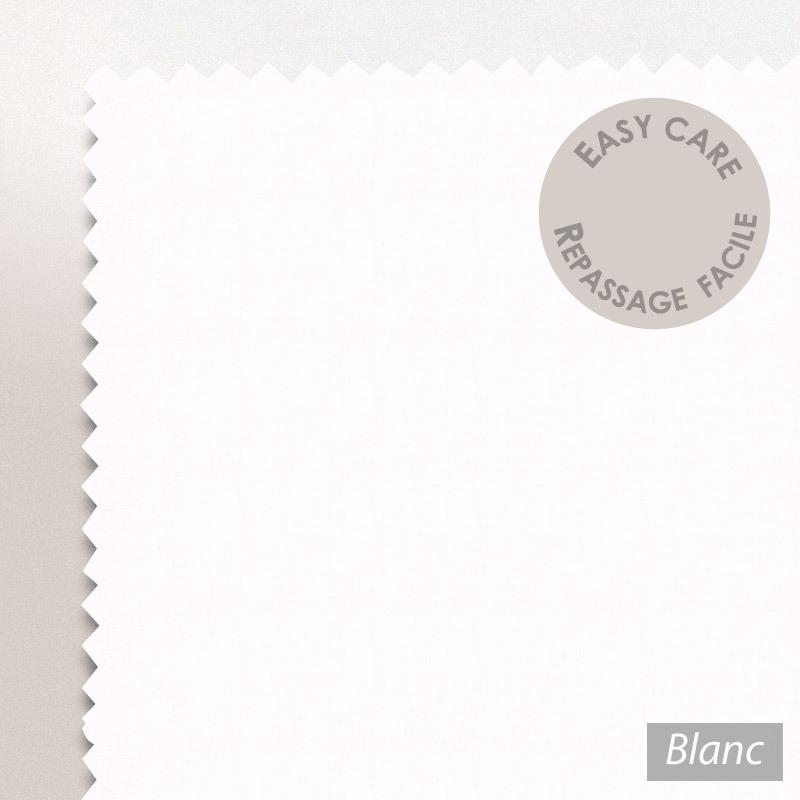 drap housse 120x190cm uni pur coton alto blanc linnea linge de maison et. Black Bedroom Furniture Sets. Home Design Ideas