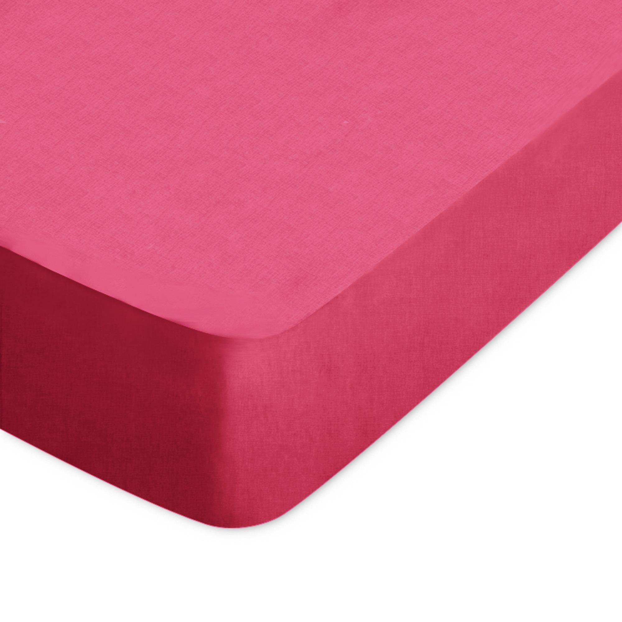 drap housse 160x190cm uni pur coton alto rose kerala linnea linge de maison et. Black Bedroom Furniture Sets. Home Design Ideas