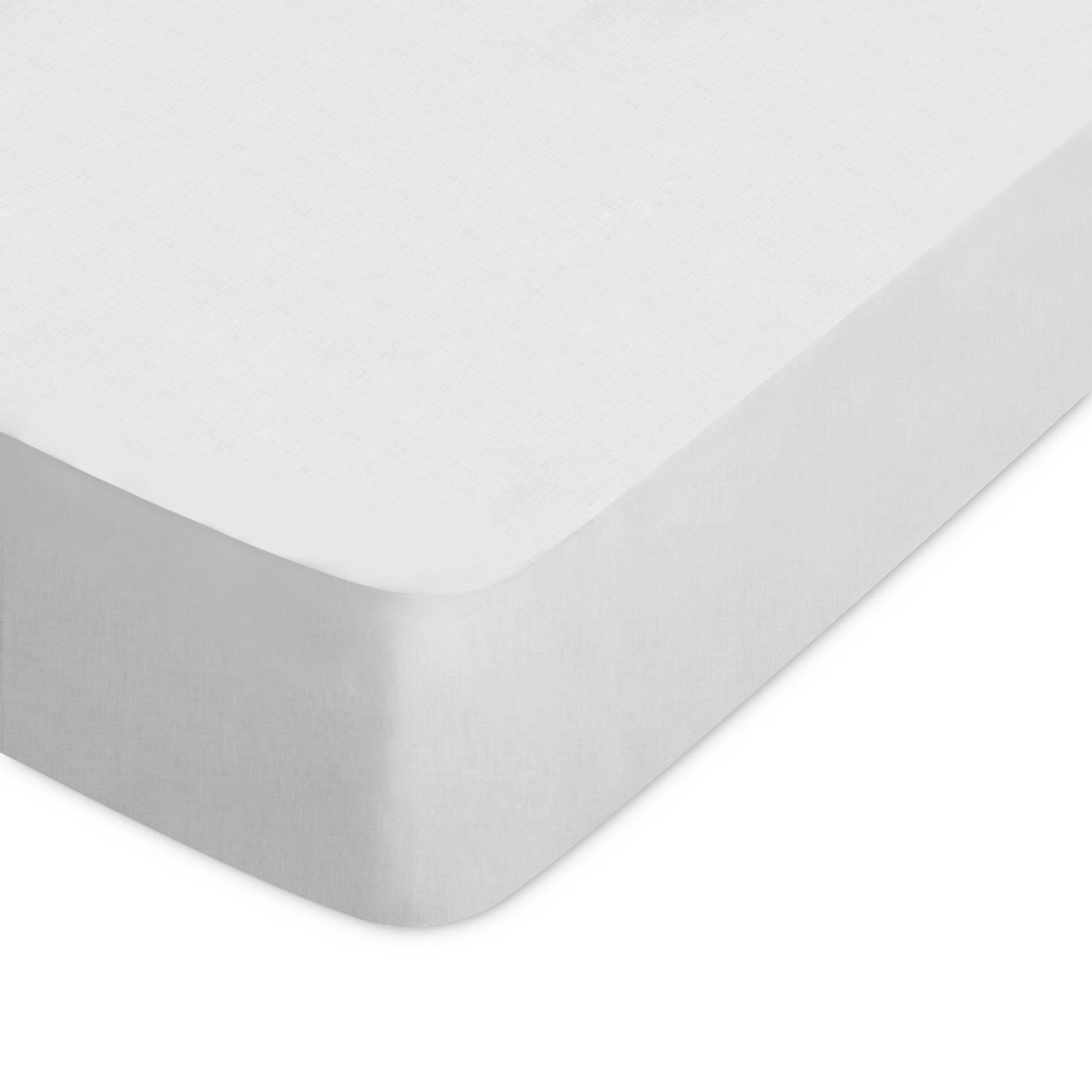 drap housse 160x200cm uni pur coton alto gris calcium linnea linge de maison et. Black Bedroom Furniture Sets. Home Design Ideas