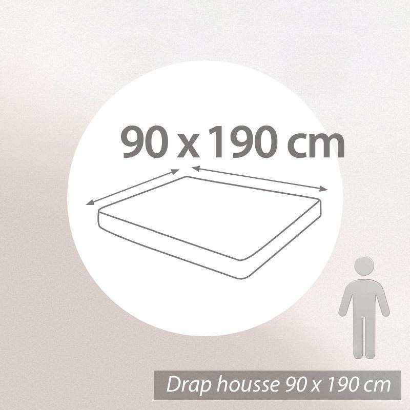 drap housse 80x190cm uni pur coton alto rouge garance linnea linge de maison et. Black Bedroom Furniture Sets. Home Design Ideas