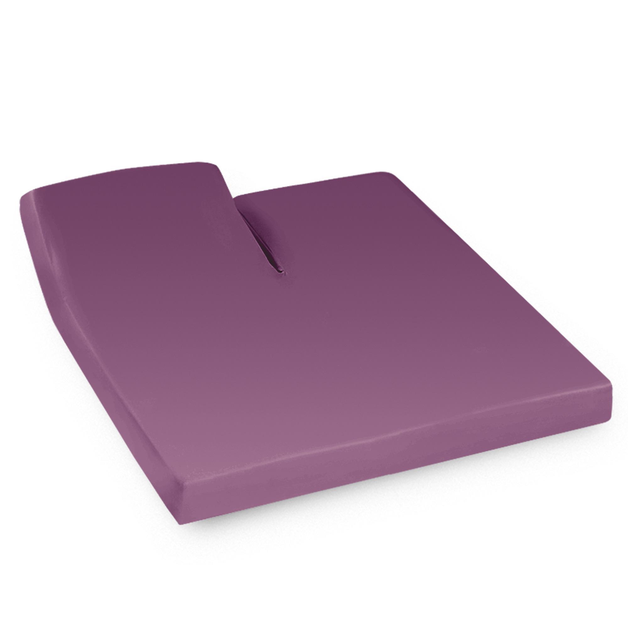 Drap housse relaxation 2x70x190cm uni pur coton alto for Drap housse 70x190
