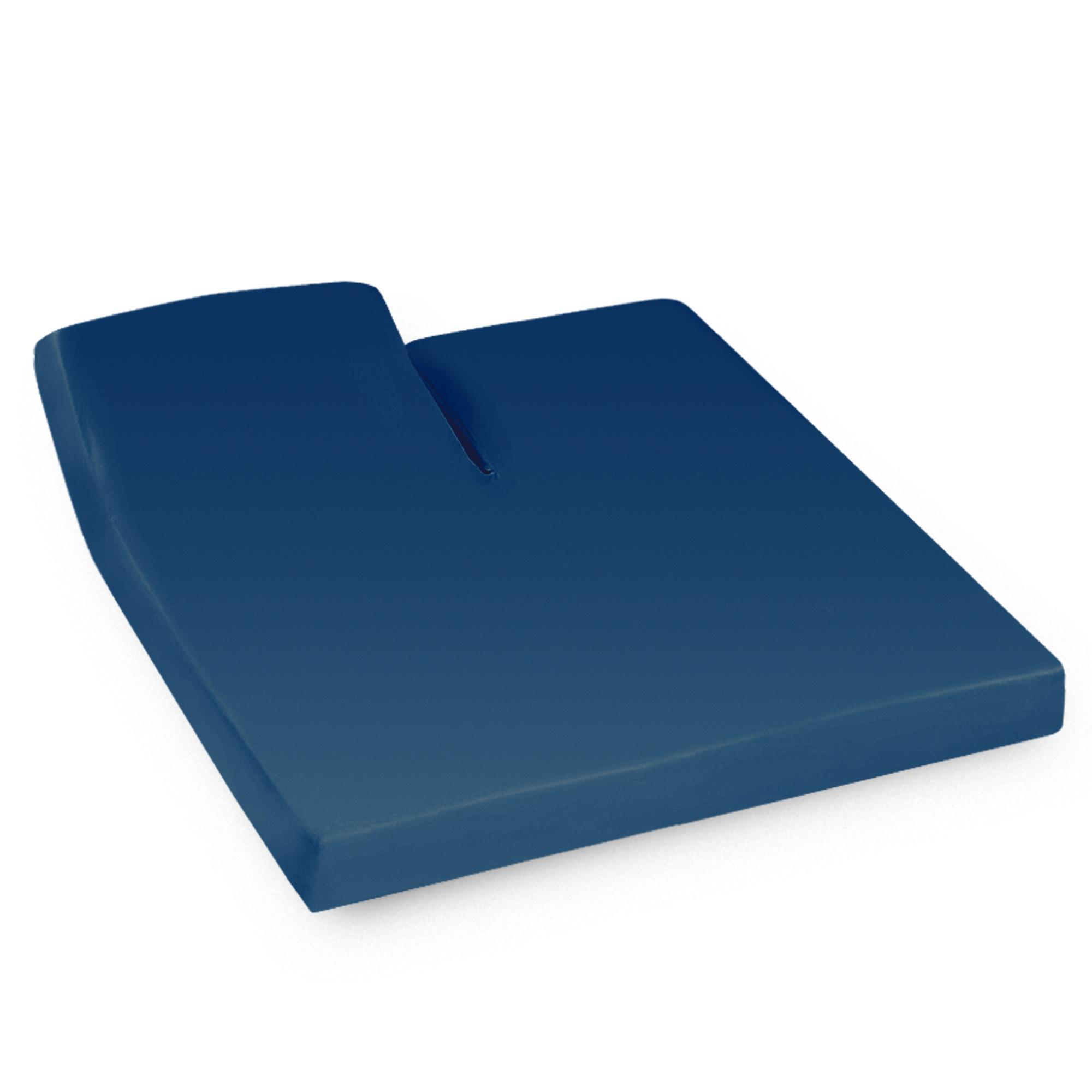 drap housse relaxation 2x80x190cm uni pur coton alto bleu nautic tr t te relevable uniquement. Black Bedroom Furniture Sets. Home Design Ideas