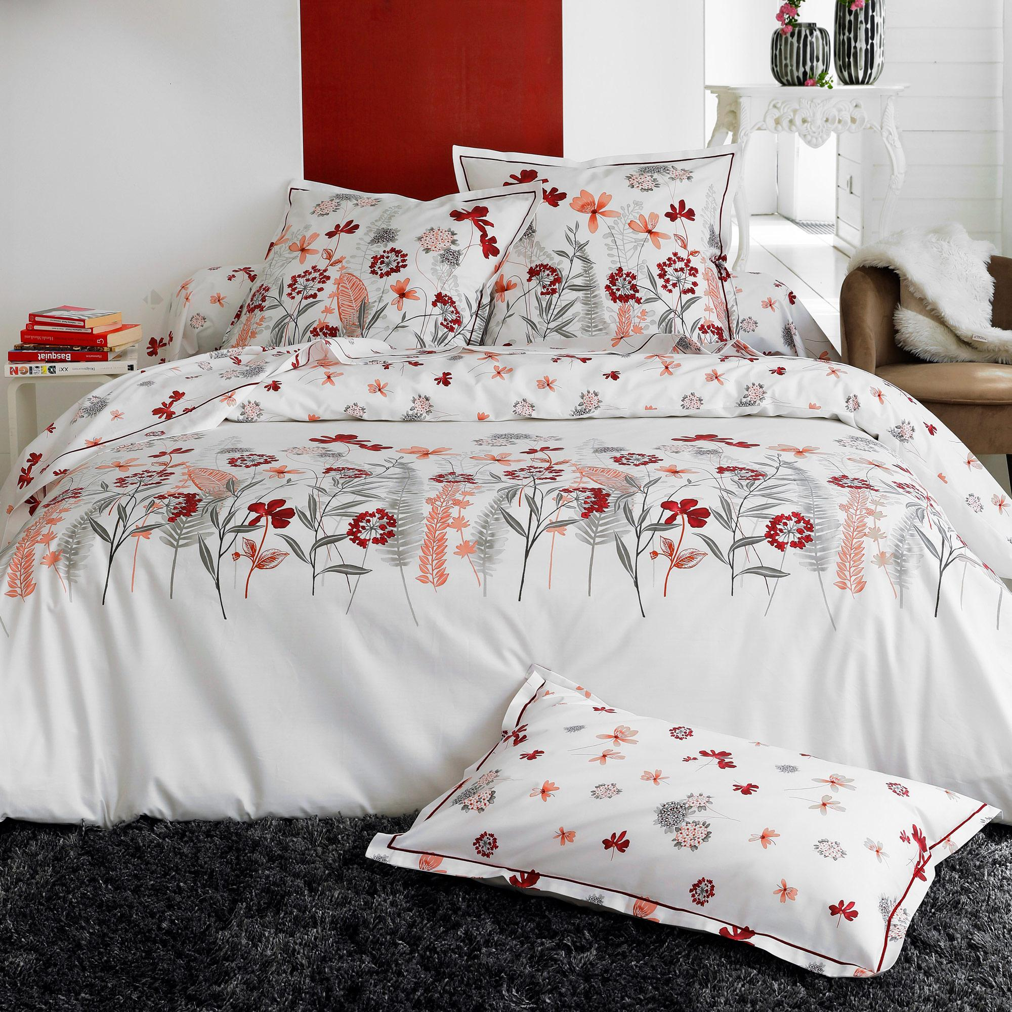 housse de couette 300x240 cm percale pur coton petite. Black Bedroom Furniture Sets. Home Design Ideas
