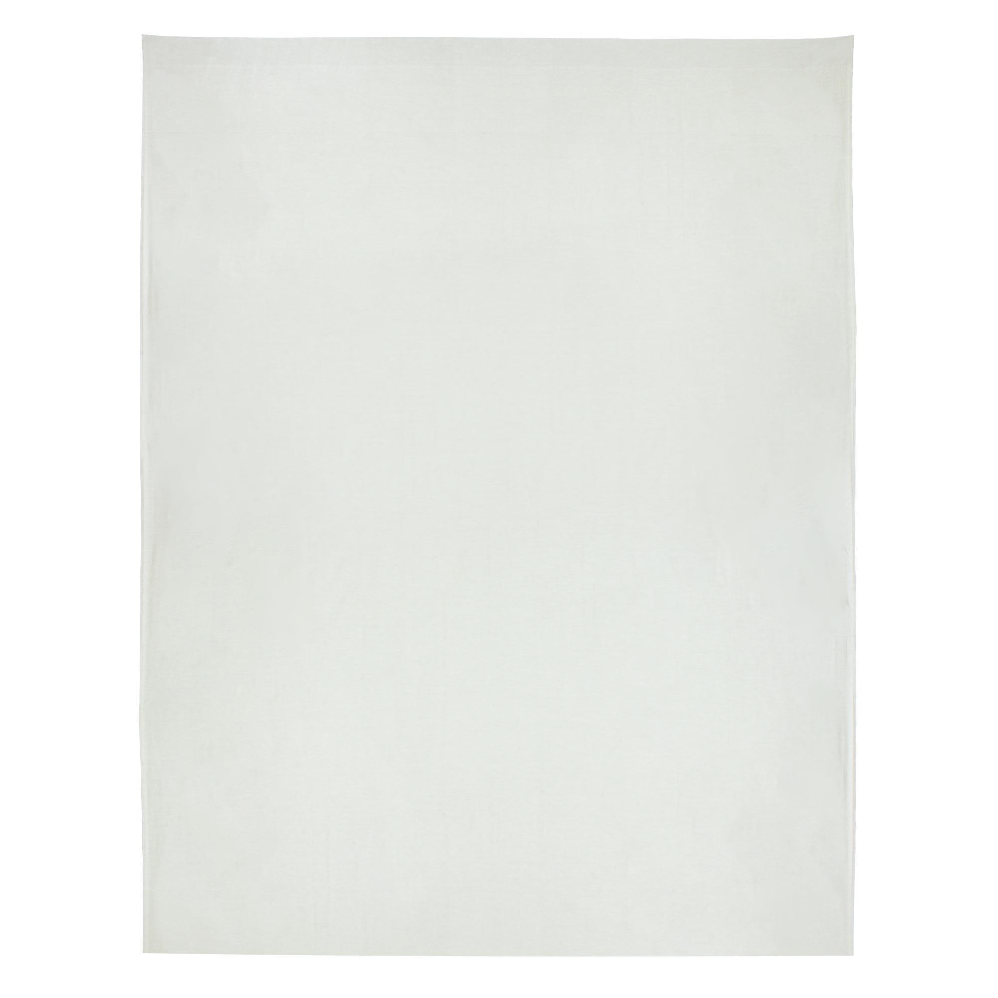 drap plat 270x310 uni satin de coton concorde gris clair ebay. Black Bedroom Furniture Sets. Home Design Ideas