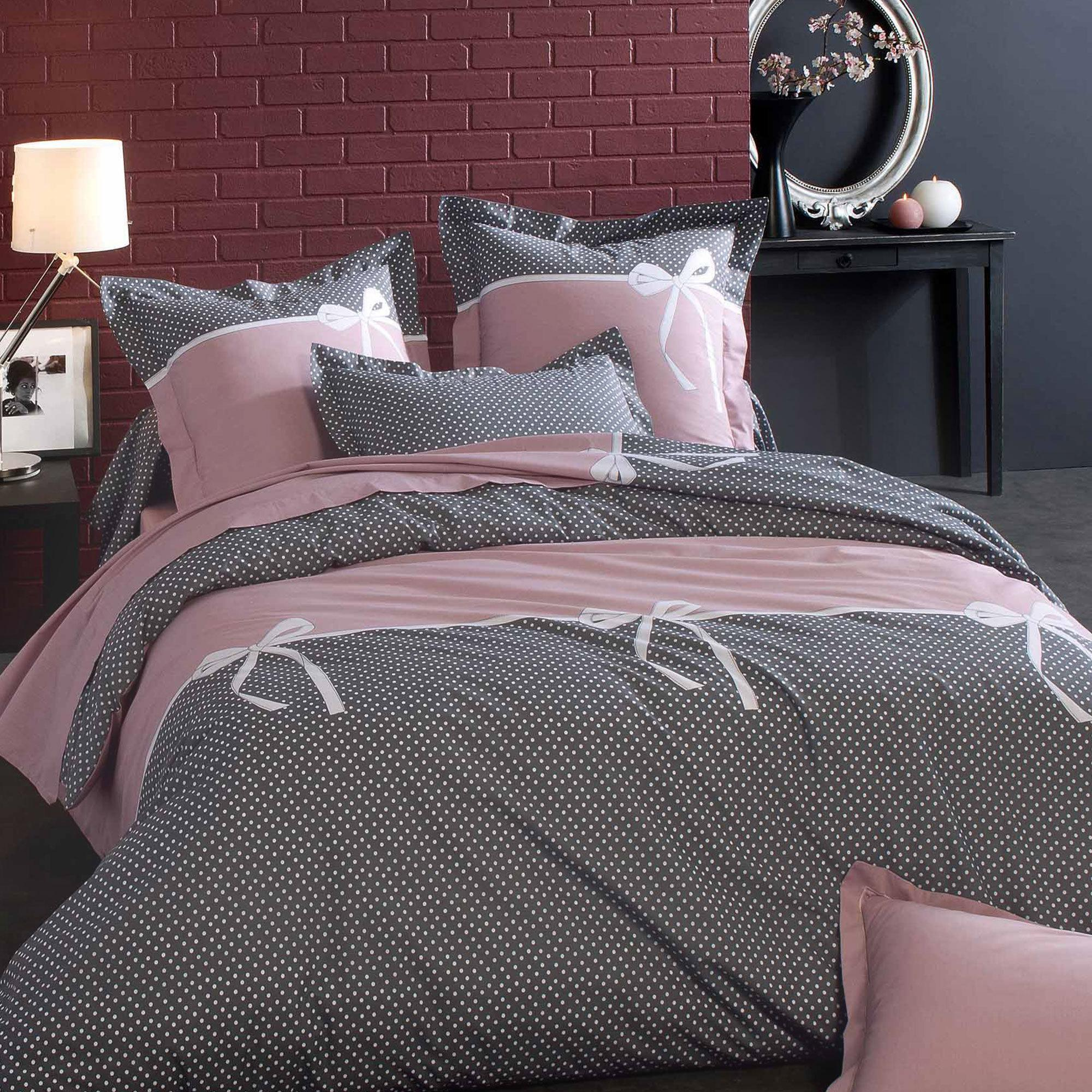 housse de couette 140x200 cm calista linnea vente de linge de maison. Black Bedroom Furniture Sets. Home Design Ideas