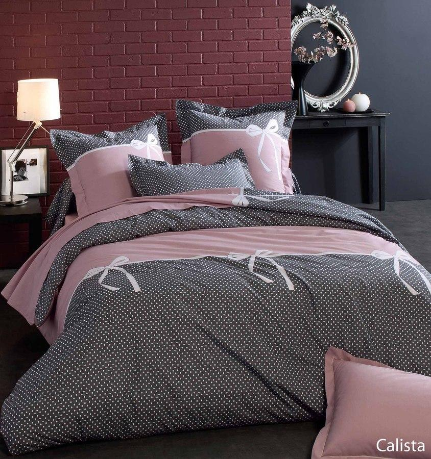 housse de couette 200x200 cm calista linnea vente de linge de maison. Black Bedroom Furniture Sets. Home Design Ideas