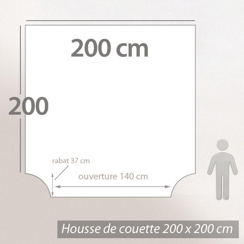 Housse de couette 200x200 cm london union jack linnea for Housse de couette london 200x200