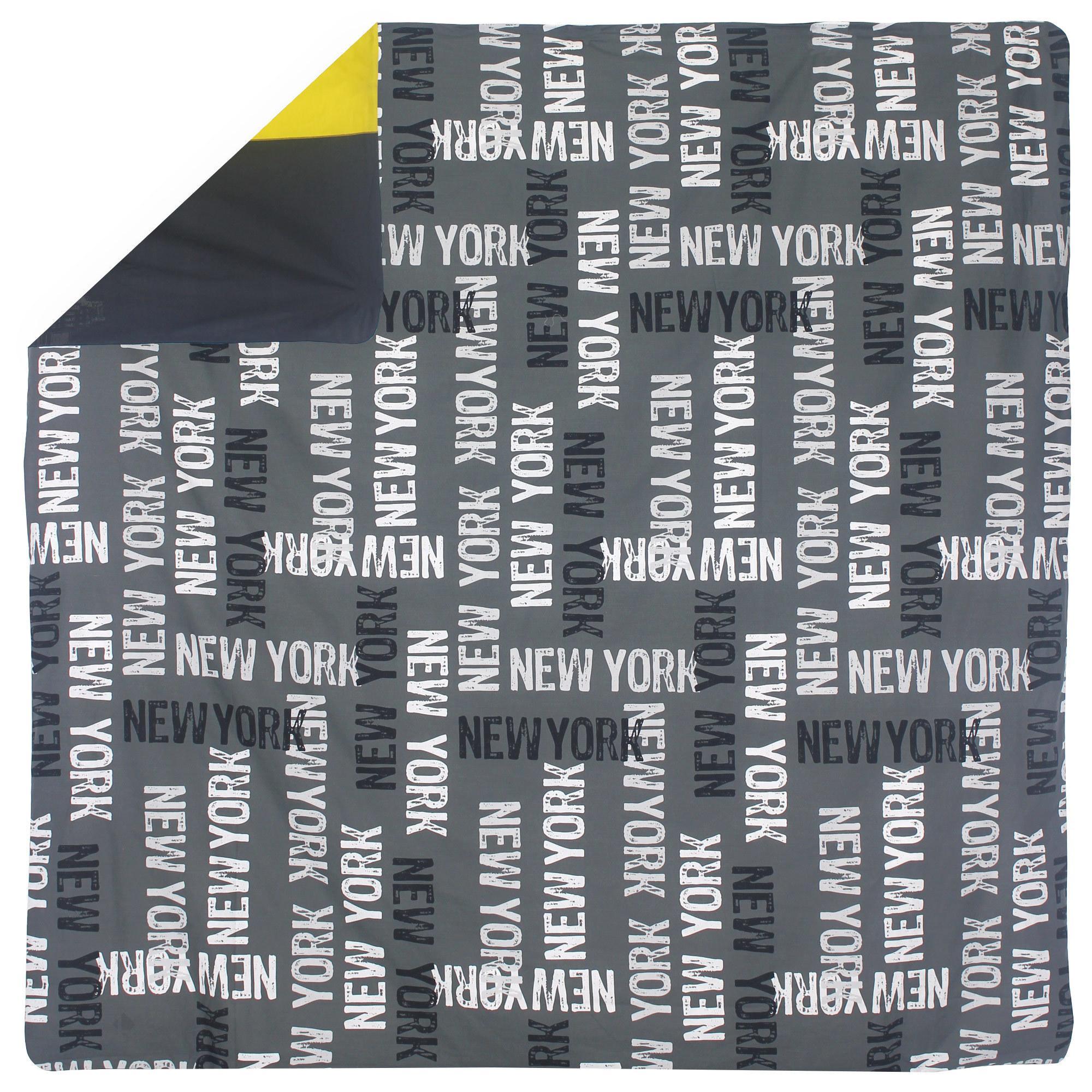 Housse De Couette 240x220 Cm New York Linnea Linge De Maison Et