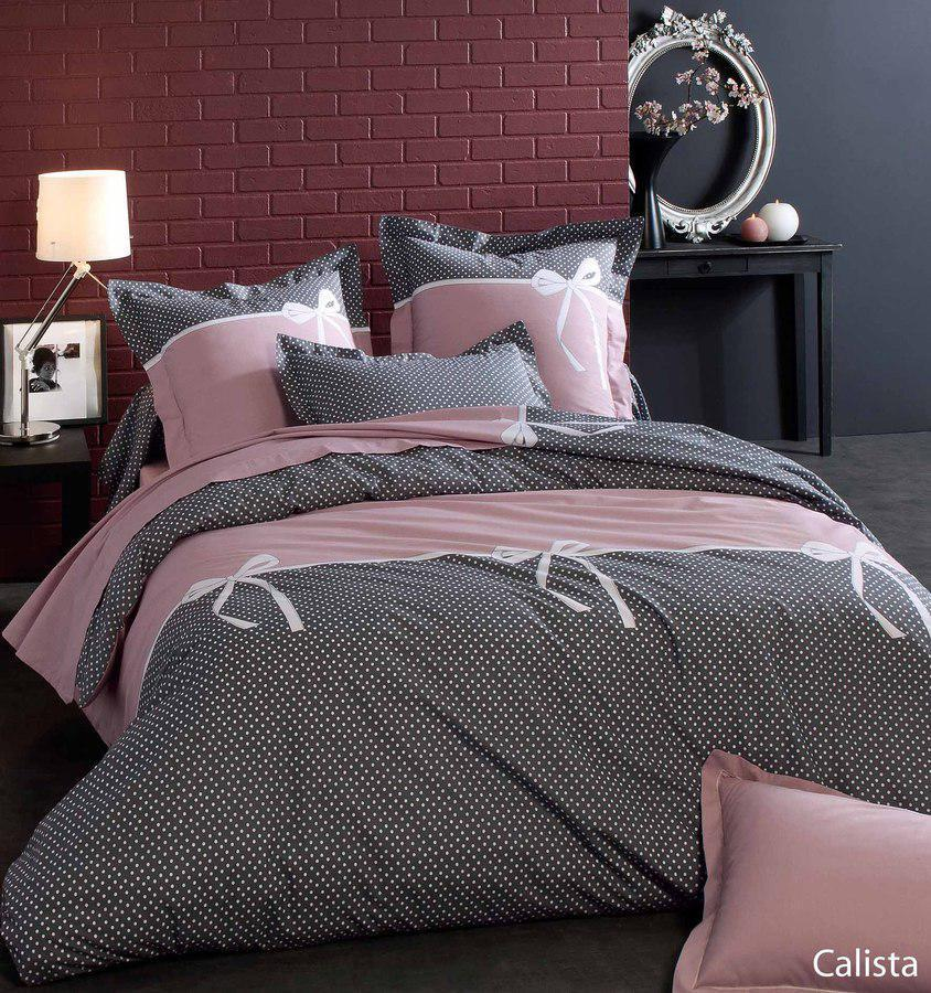 housse de couette 280x240 100 coton calista ebay. Black Bedroom Furniture Sets. Home Design Ideas