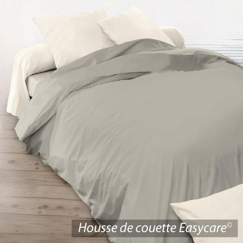 housse de couette 280x240cm uni pur coton alto marron chamois linnea vente de linge de maison. Black Bedroom Furniture Sets. Home Design Ideas