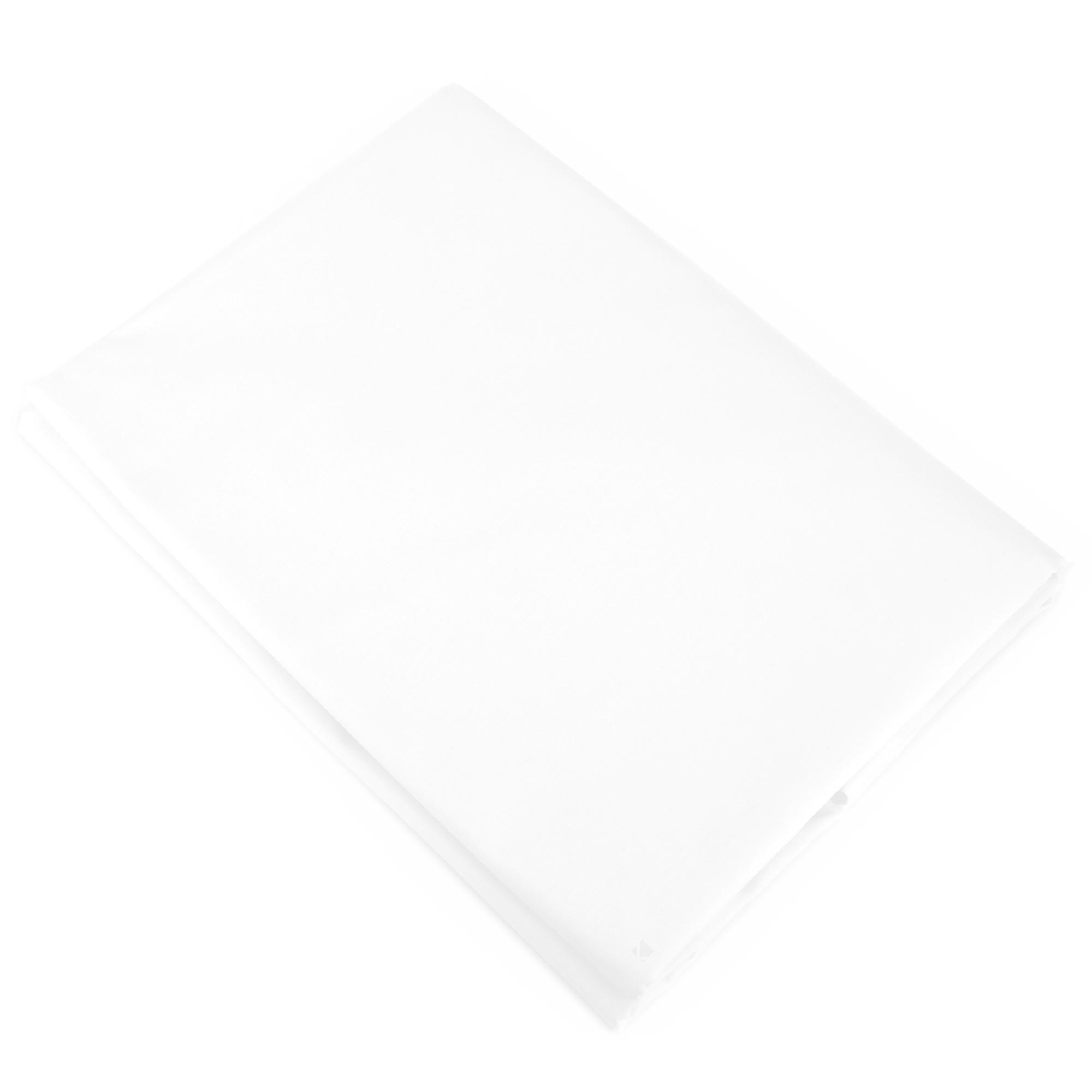 housse de couette 300x240cm uni pur coton alto blanc linnea linge de maison et. Black Bedroom Furniture Sets. Home Design Ideas