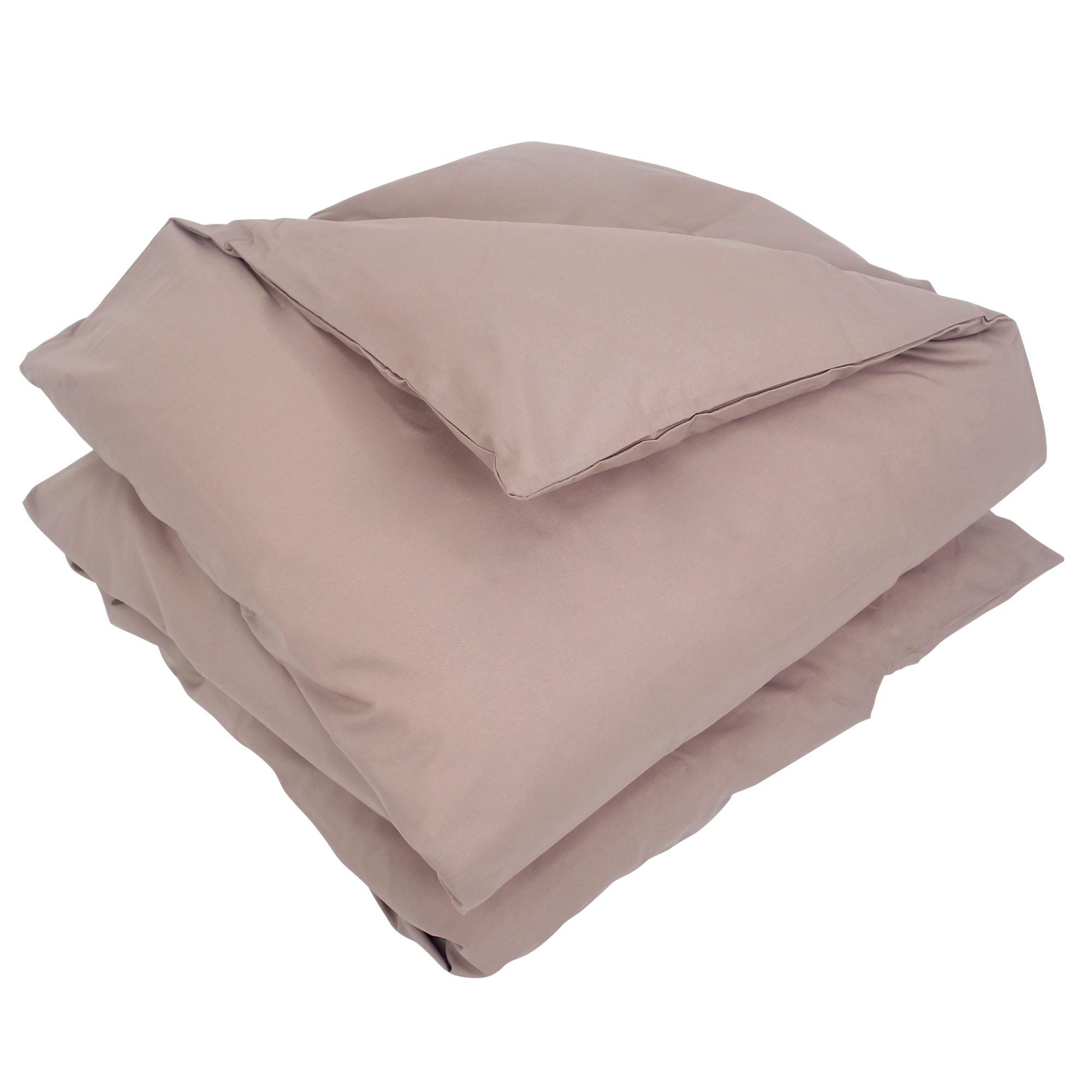 housse de couette 300x240cm uni pur coton alto violet violine linnea linge de maison et. Black Bedroom Furniture Sets. Home Design Ideas