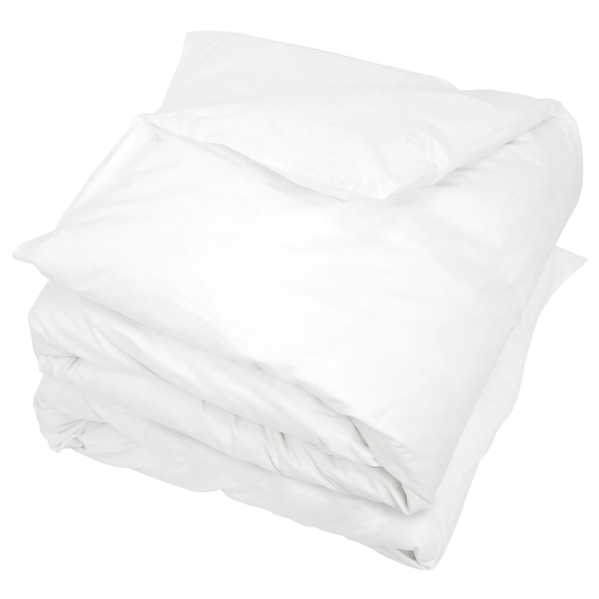housse de couette 300x300cm uni pur coton alto blanc linnea linge de maison et. Black Bedroom Furniture Sets. Home Design Ideas
