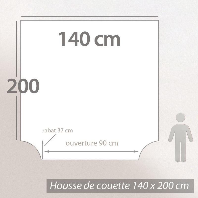 Housse-de-couette-140x200-Percale-pur-coton-GATSBY